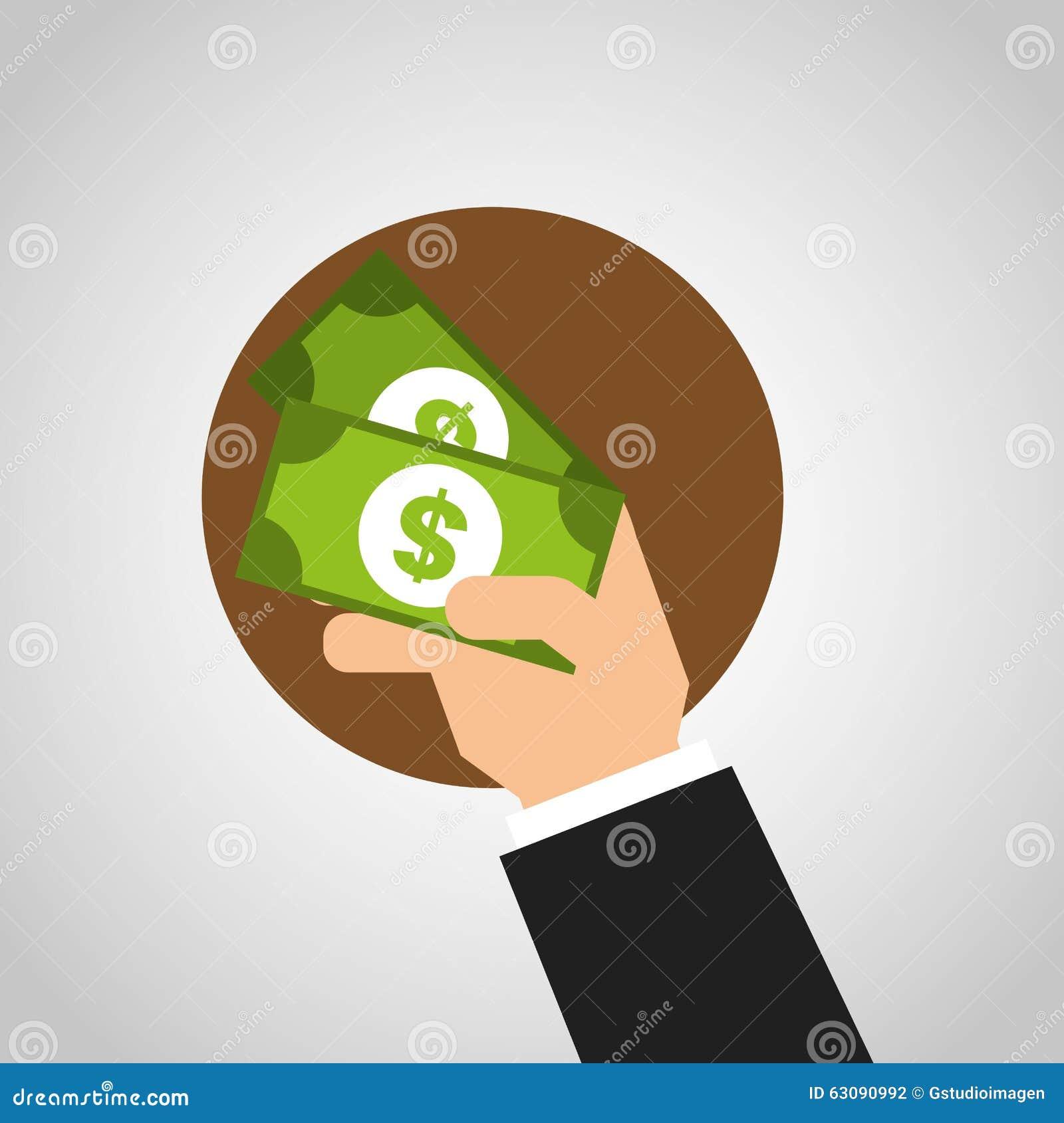 Download Conception De L'avant-projet D'argent Illustration de Vecteur - Illustration du dollar, concept: 63090992
