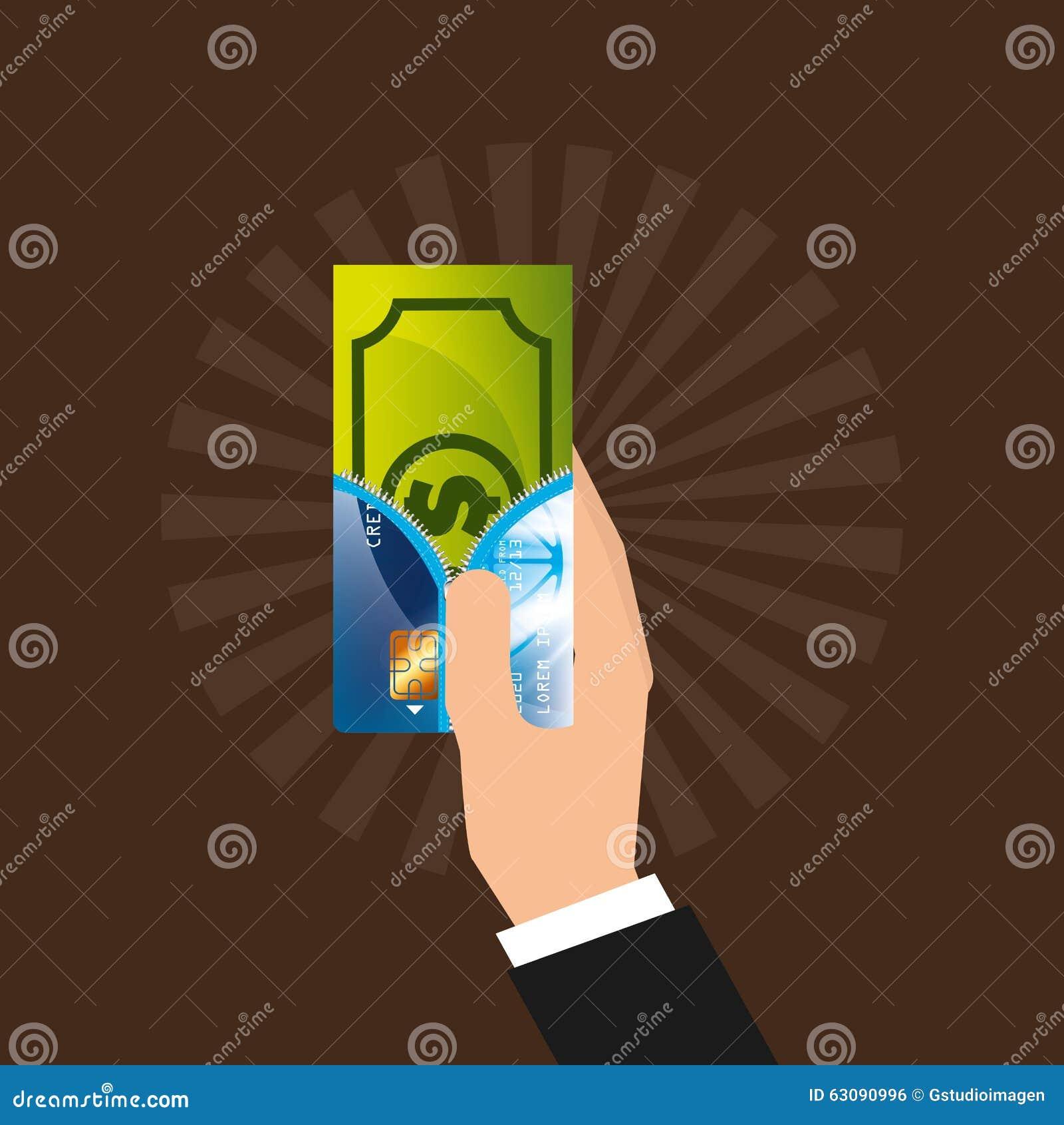 Download Conception De L'avant-projet D'argent Illustration de Vecteur - Illustration du isolement, investissement: 63090996