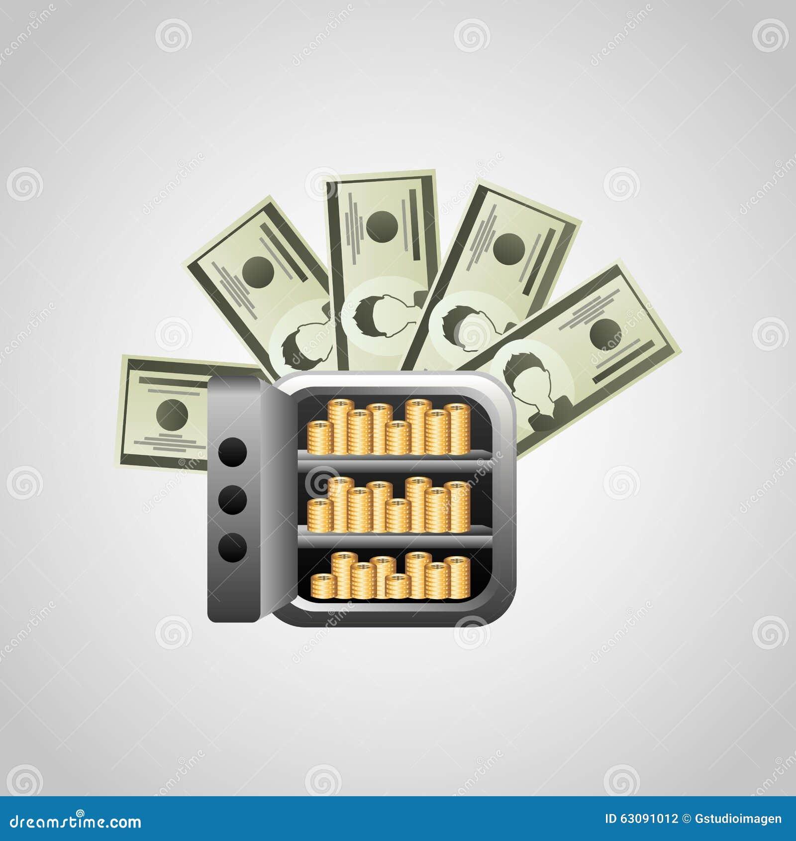Download Conception De L'avant-projet D'argent Illustration de Vecteur - Illustration du signe, bénéfice: 63091012