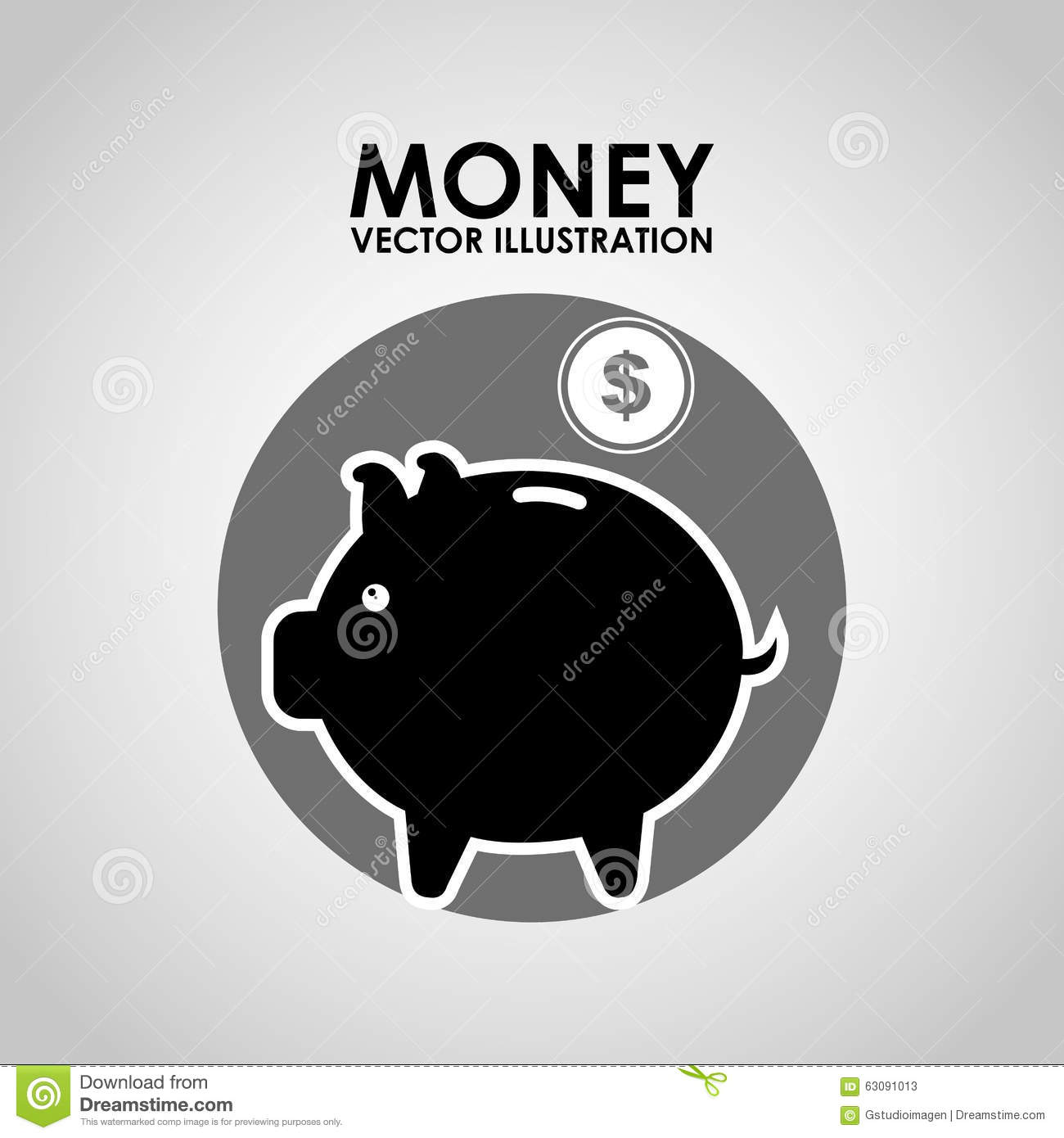 Download Conception De L'avant-projet D'argent Illustration de Vecteur - Illustration du produits, dollar: 63091013