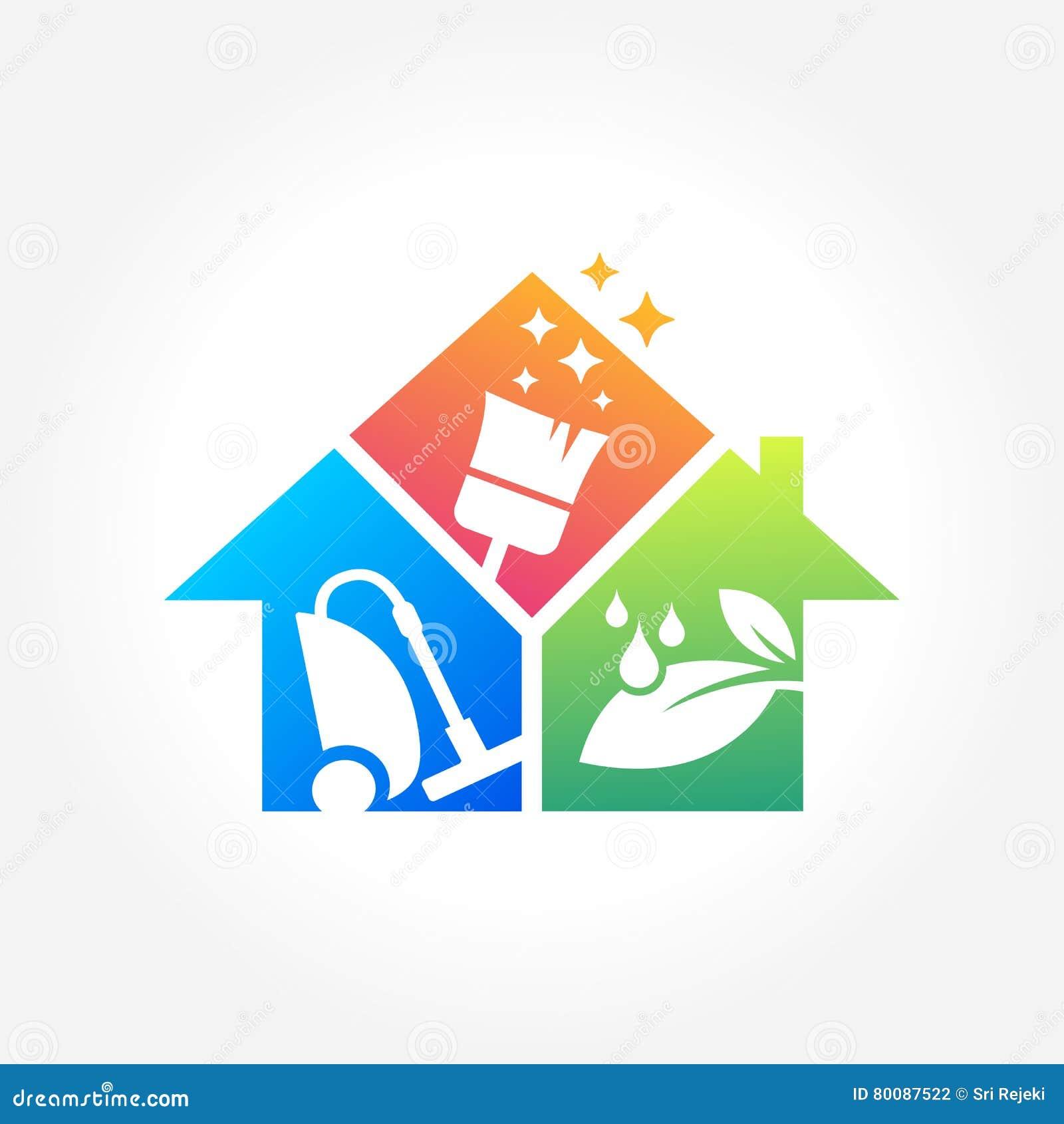 Super Conception De Logo D'entreprise De Services De Nettoyage, Concept  WC72