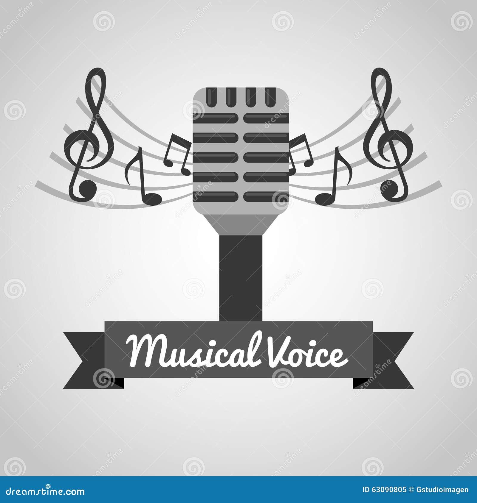 Download Conception De Mode De Vie De Musique Illustration de Vecteur - Illustration du vecteur, musical: 63090805