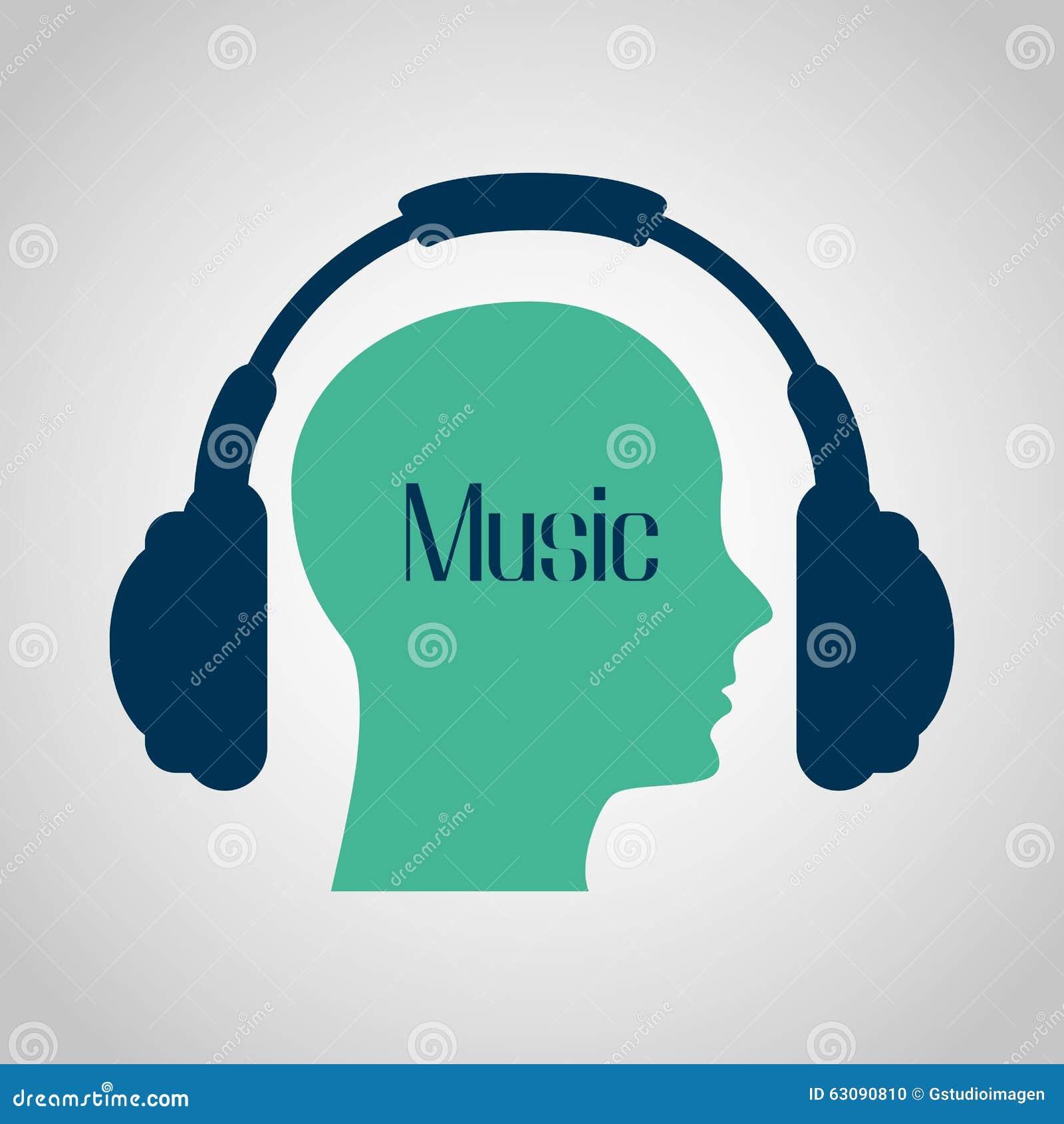 Download Conception De Mode De Vie De Musique Illustration de Vecteur - Illustration du humain, moderne: 63090810