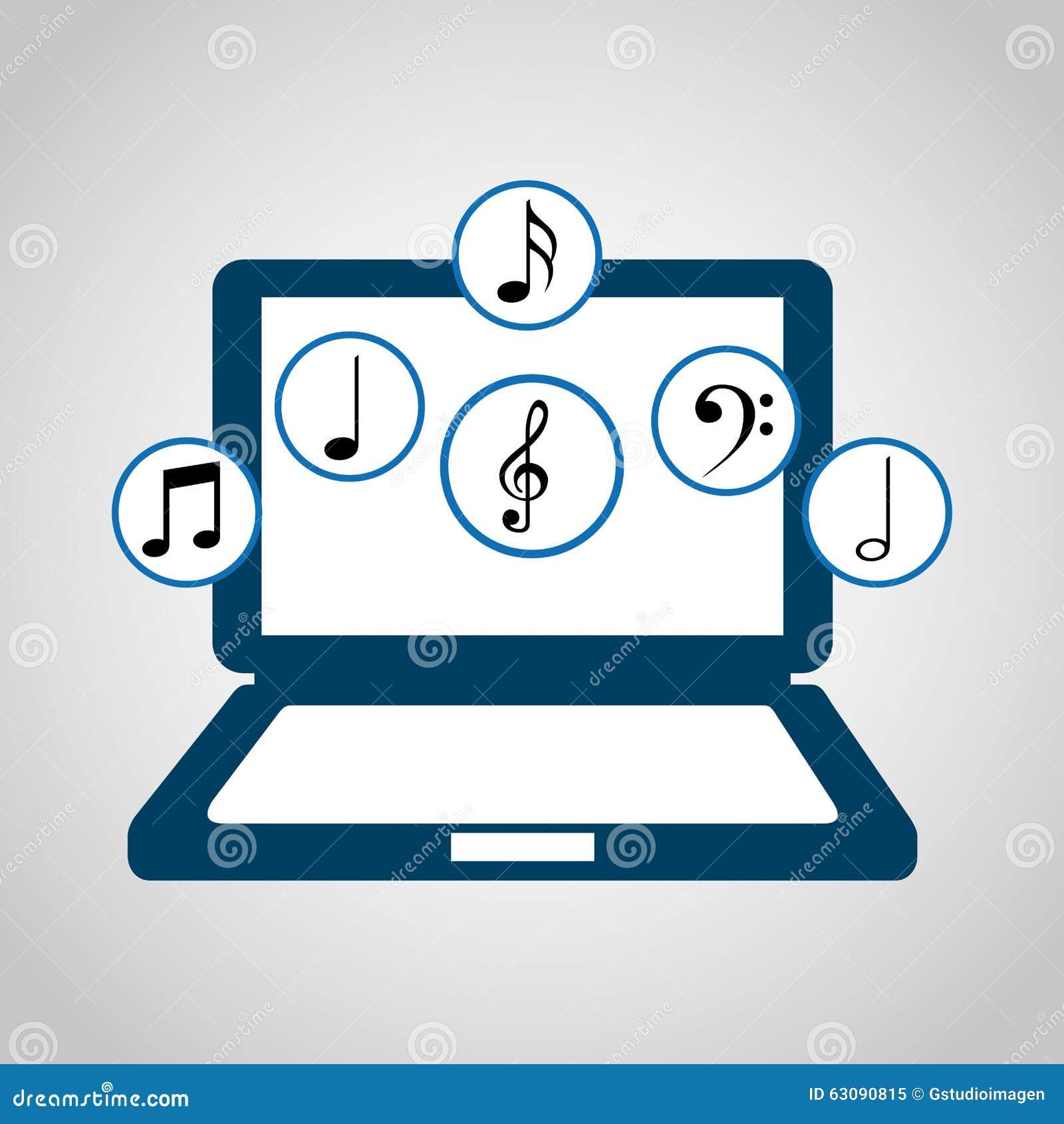 Download Conception De Mode De Vie De Musique Illustration de Vecteur - Illustration du musique, illustration: 63090815