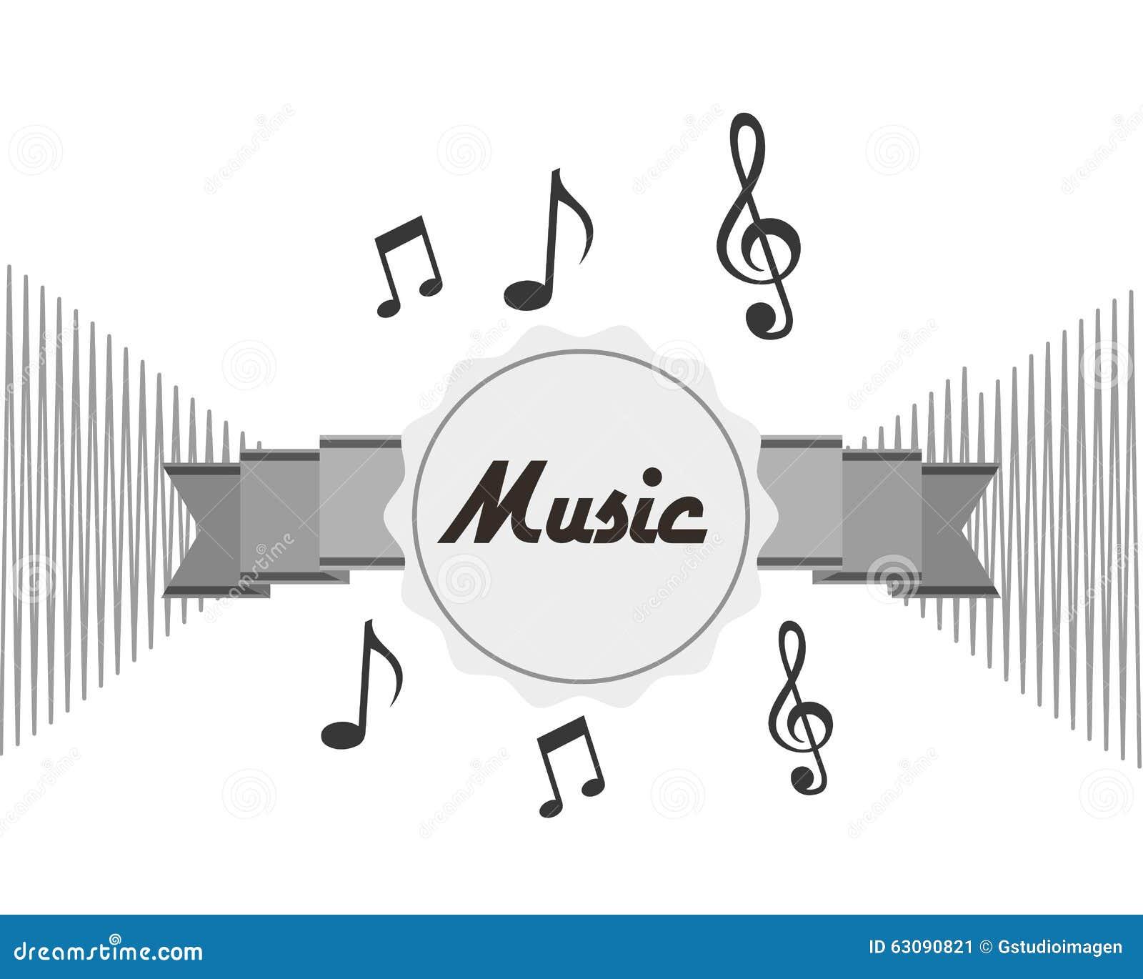 Download Conception De Mode De Vie De Musique Illustration de Vecteur - Illustration du musical, abstrait: 63090821