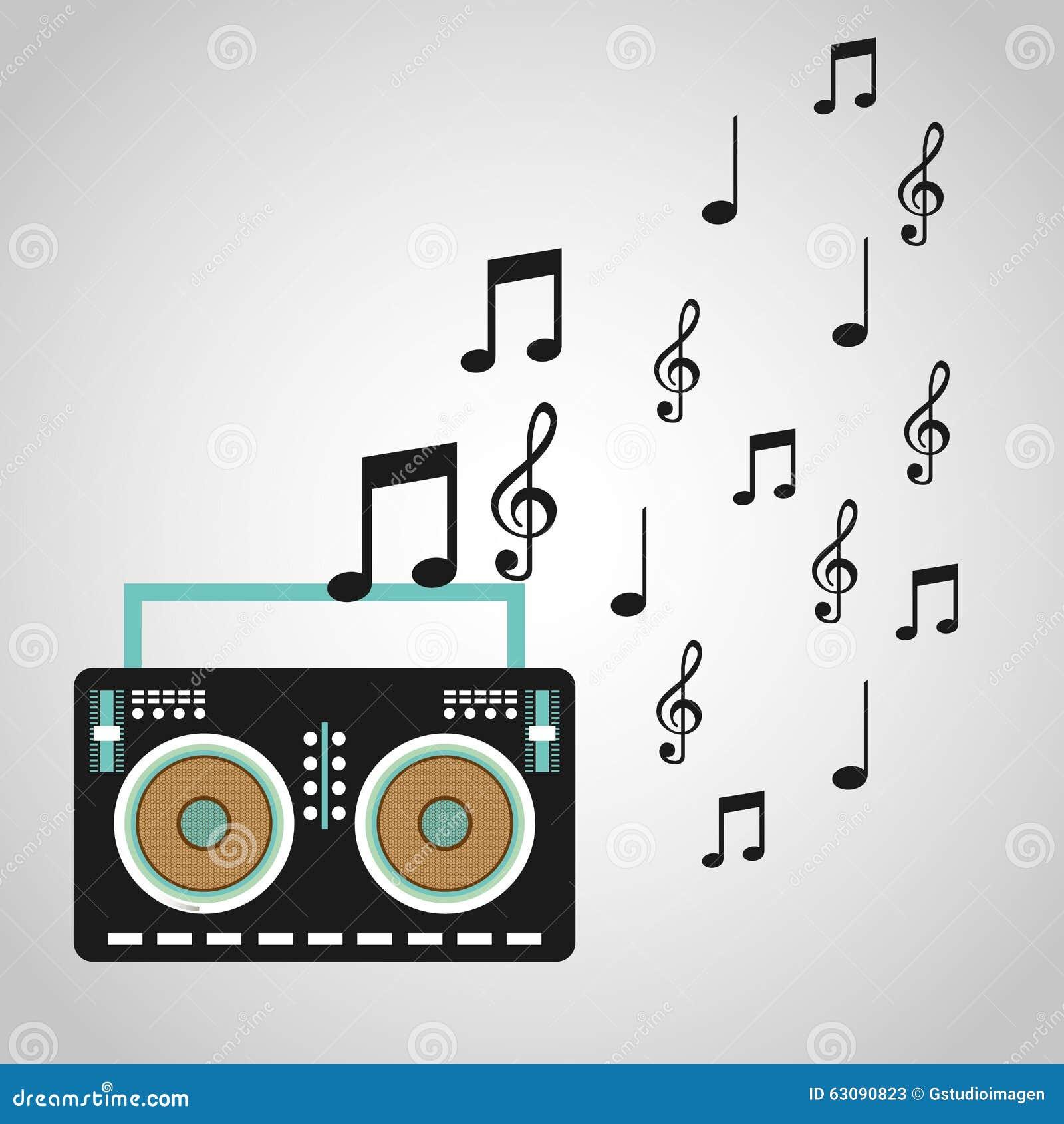 Download Conception De Mode De Vie De Musique Illustration de Vecteur - Illustration du lifestyle, musical: 63090823