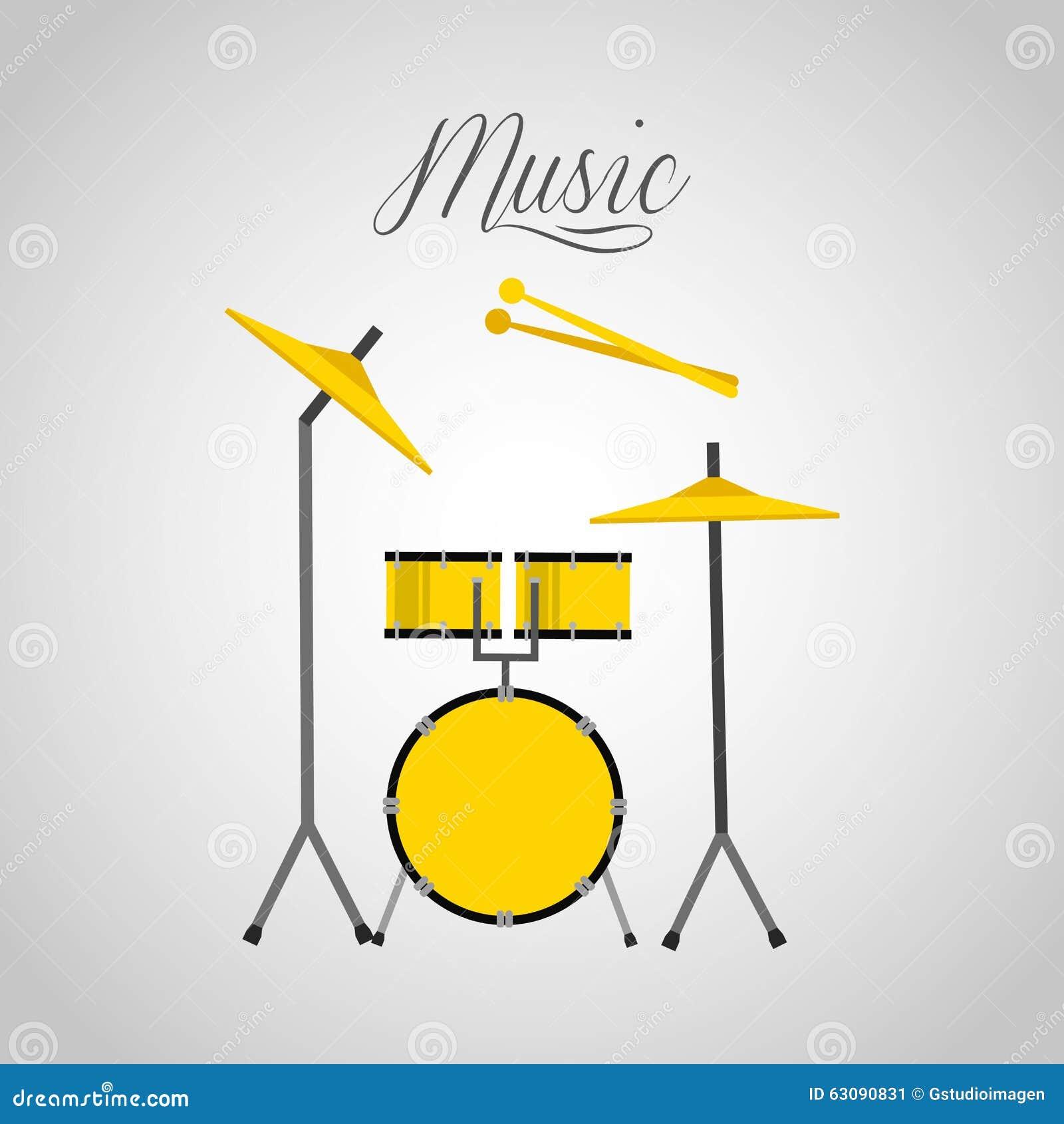 Download Conception De Mode De Vie De Musique Illustration de Vecteur - Illustration du éléments, musique: 63090831