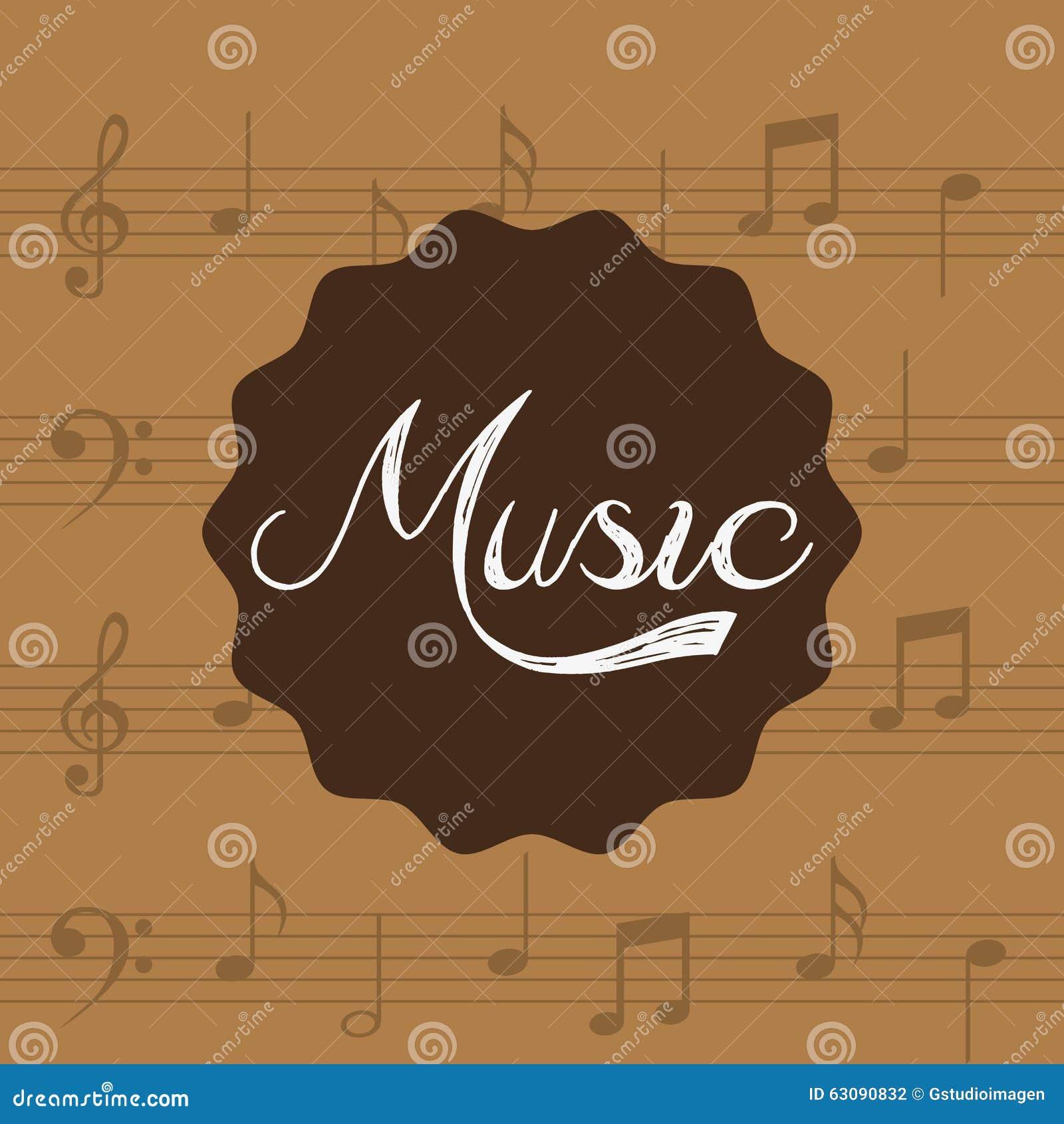 Download Conception De Mode De Vie De Musique Illustration de Vecteur - Illustration du concept, affiche: 63090832
