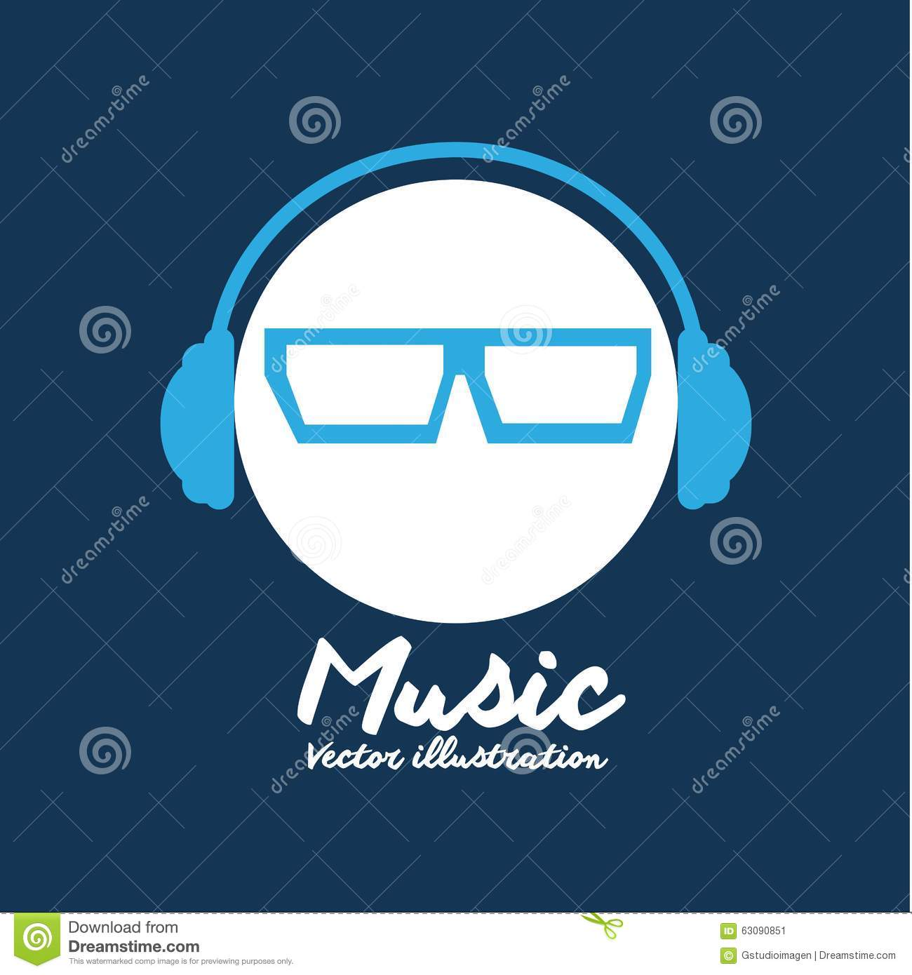 Download Conception De Mode De Vie De Musique Illustration de Vecteur - Illustration du sonore, notes: 63090851