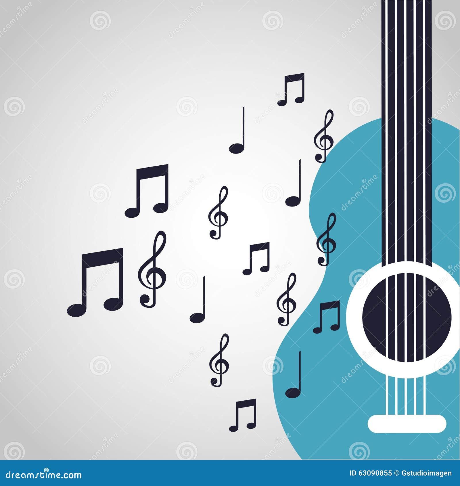 Download Conception De Mode De Vie De Musique Illustration de Vecteur - Illustration du dessin, guitare: 63090855