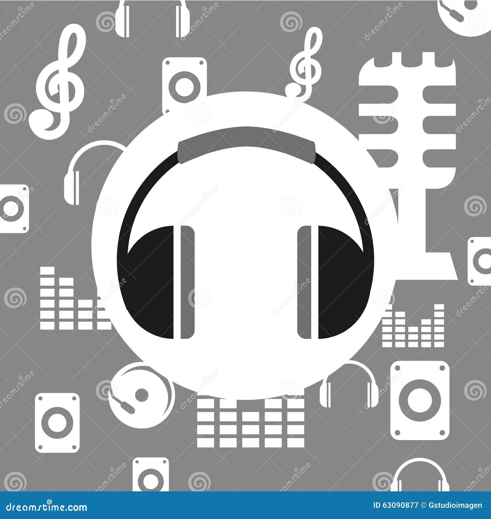 Download Conception De Mode De Vie De Musique Illustration de Vecteur - Illustration du notes, clés: 63090877