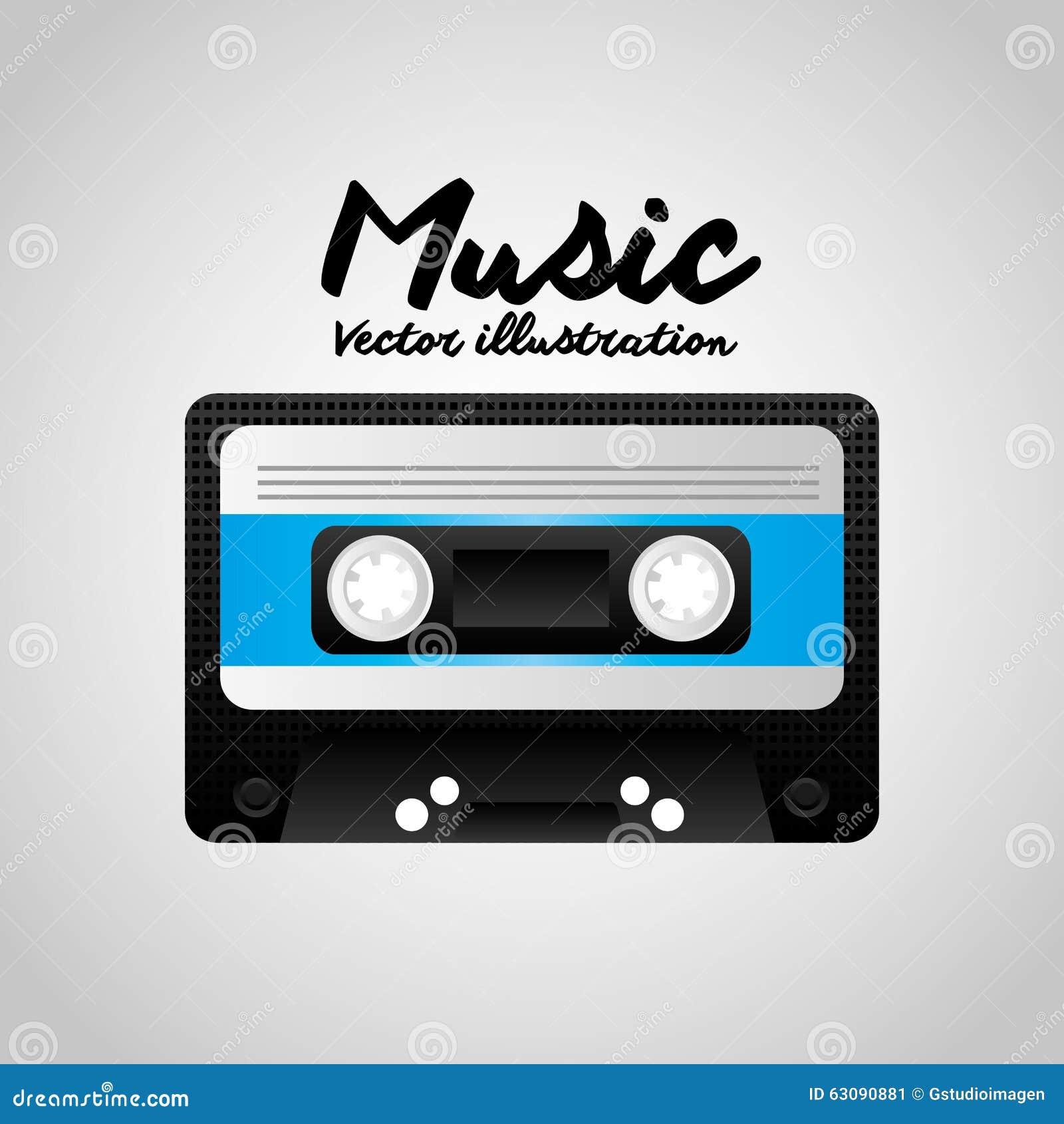 Download Conception De Mode De Vie De Musique Illustration de Vecteur - Illustration du vieux, notes: 63090881