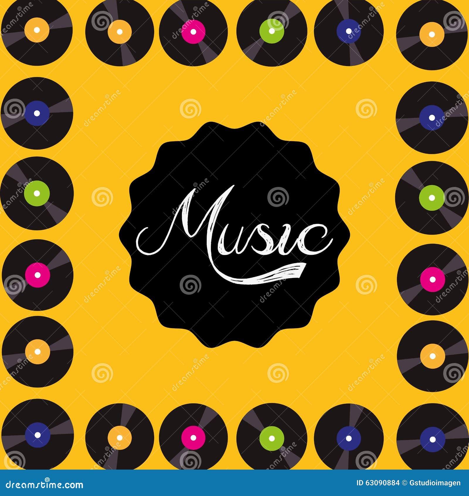 Download Conception De Mode De Vie De Musique Illustration de Vecteur - Illustration du éléments, graphisme: 63090884