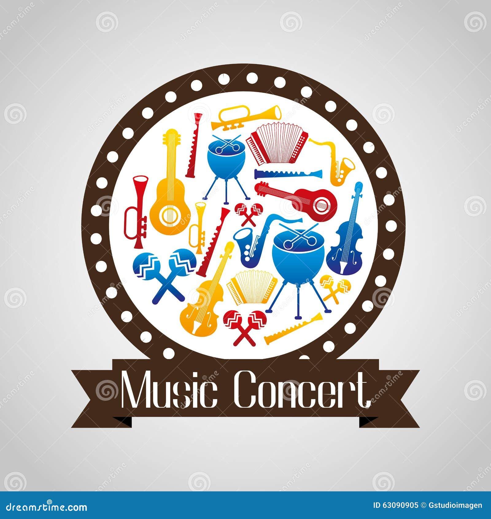 Download Conception De Mode De Vie De Musique Illustration de Vecteur - Illustration du instruments, musique: 63090905