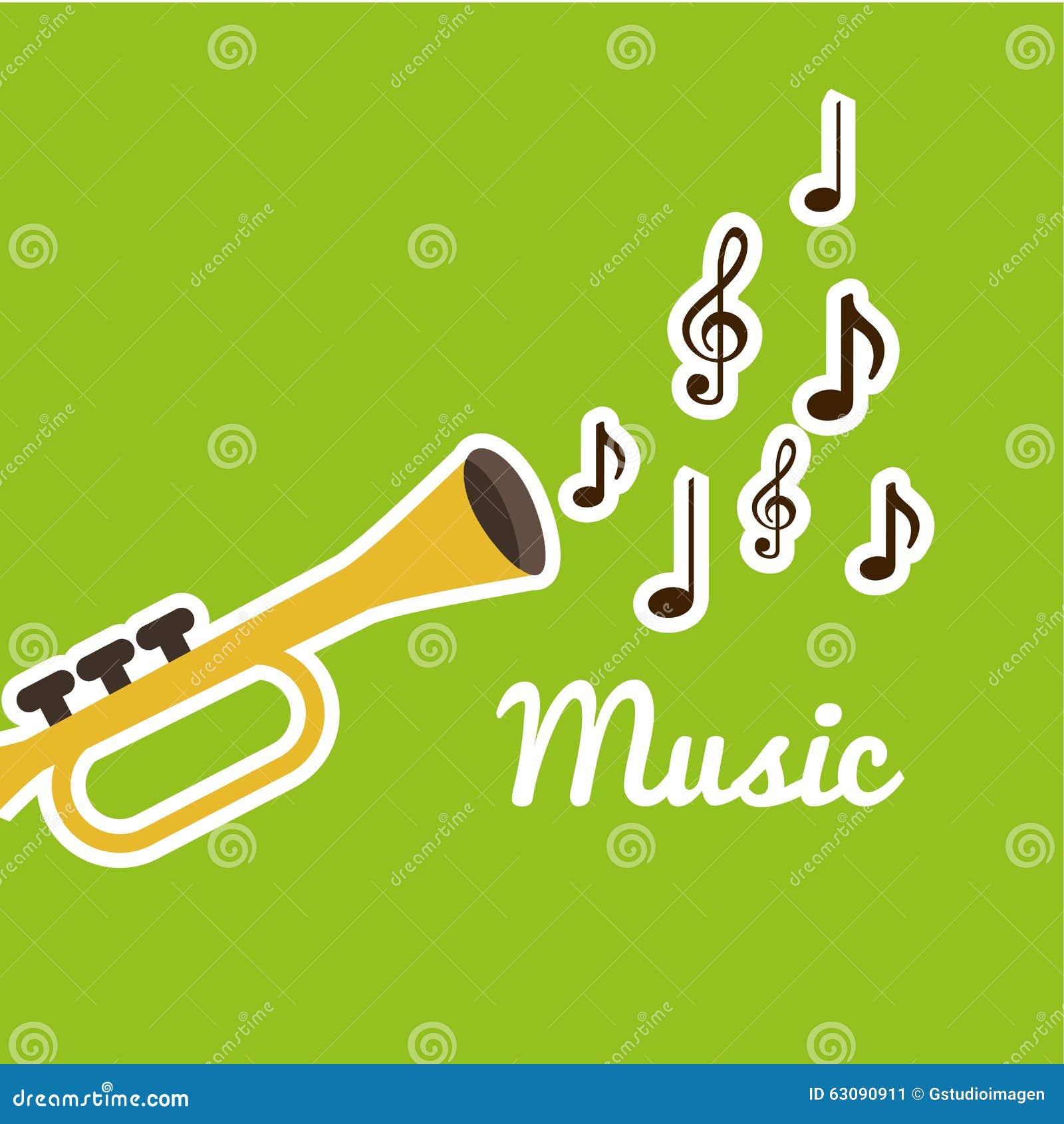 Download Conception De Mode De Vie De Musique Illustration de Vecteur - Illustration du moderne, instrument: 63090911