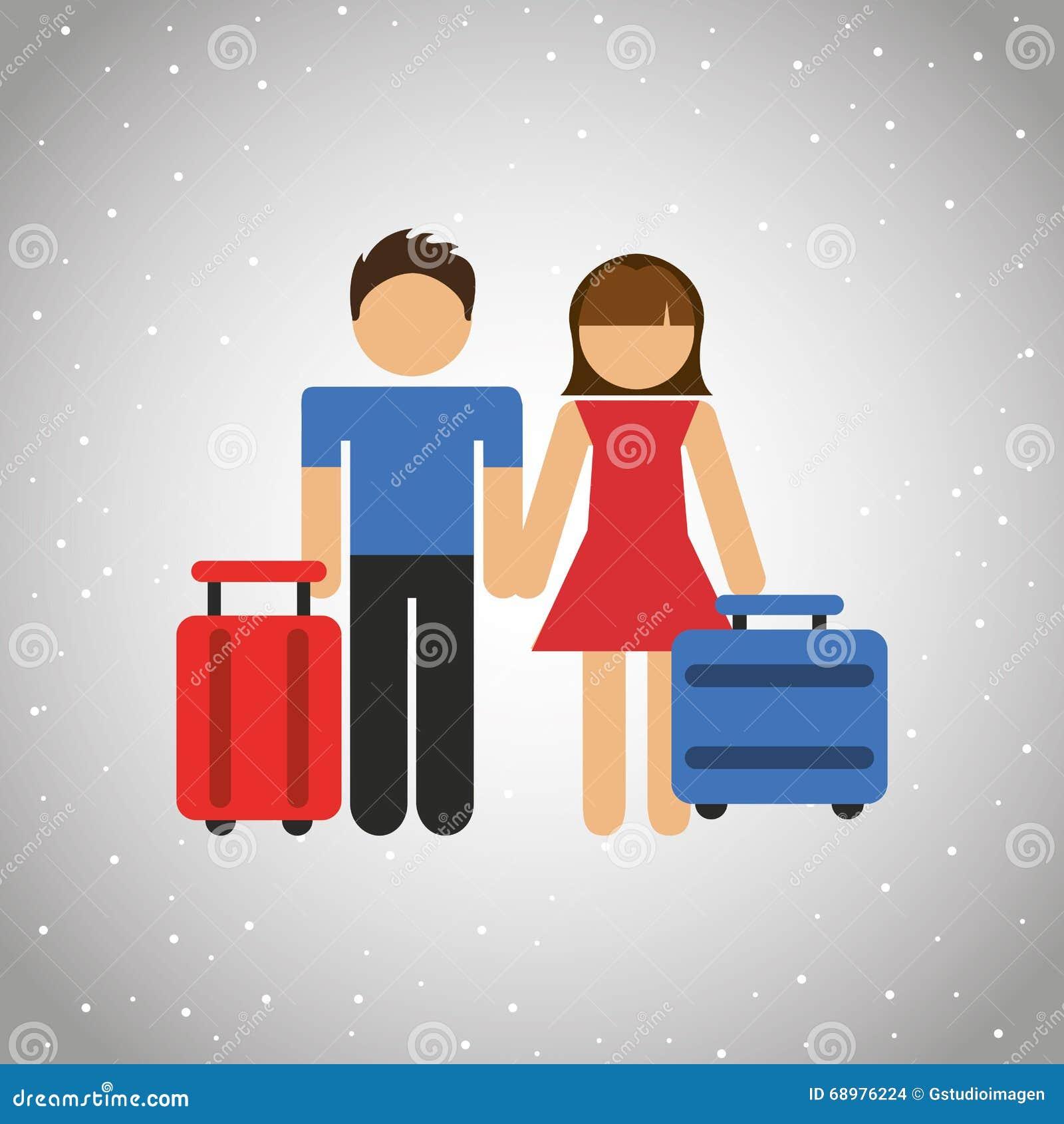 Conception de personnes et de voyage