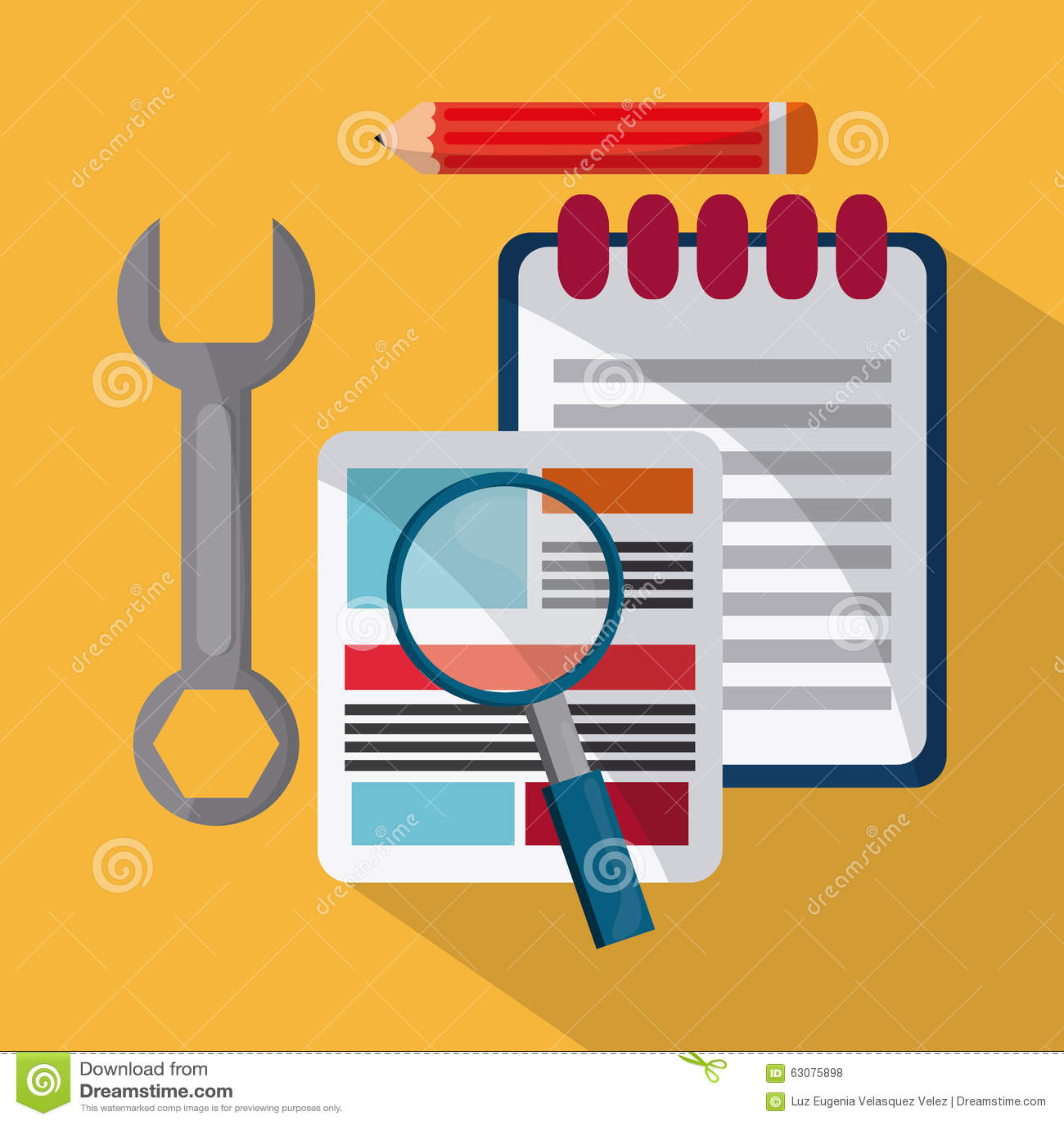 Download Conception De Processus D'icônes Illustration de Vecteur - Illustration du métaphore, union: 63075898