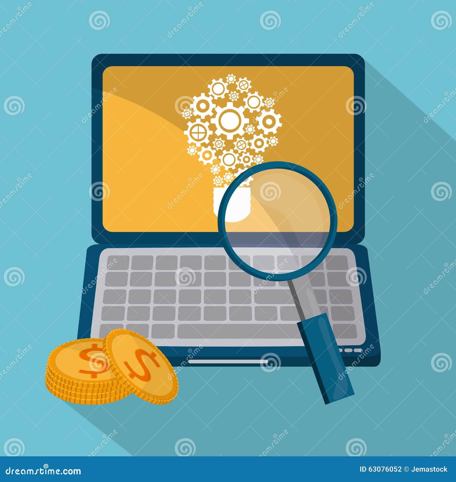Download Conception De Processus D'icônes Illustration de Vecteur - Illustration du managez, graphisme: 63076052