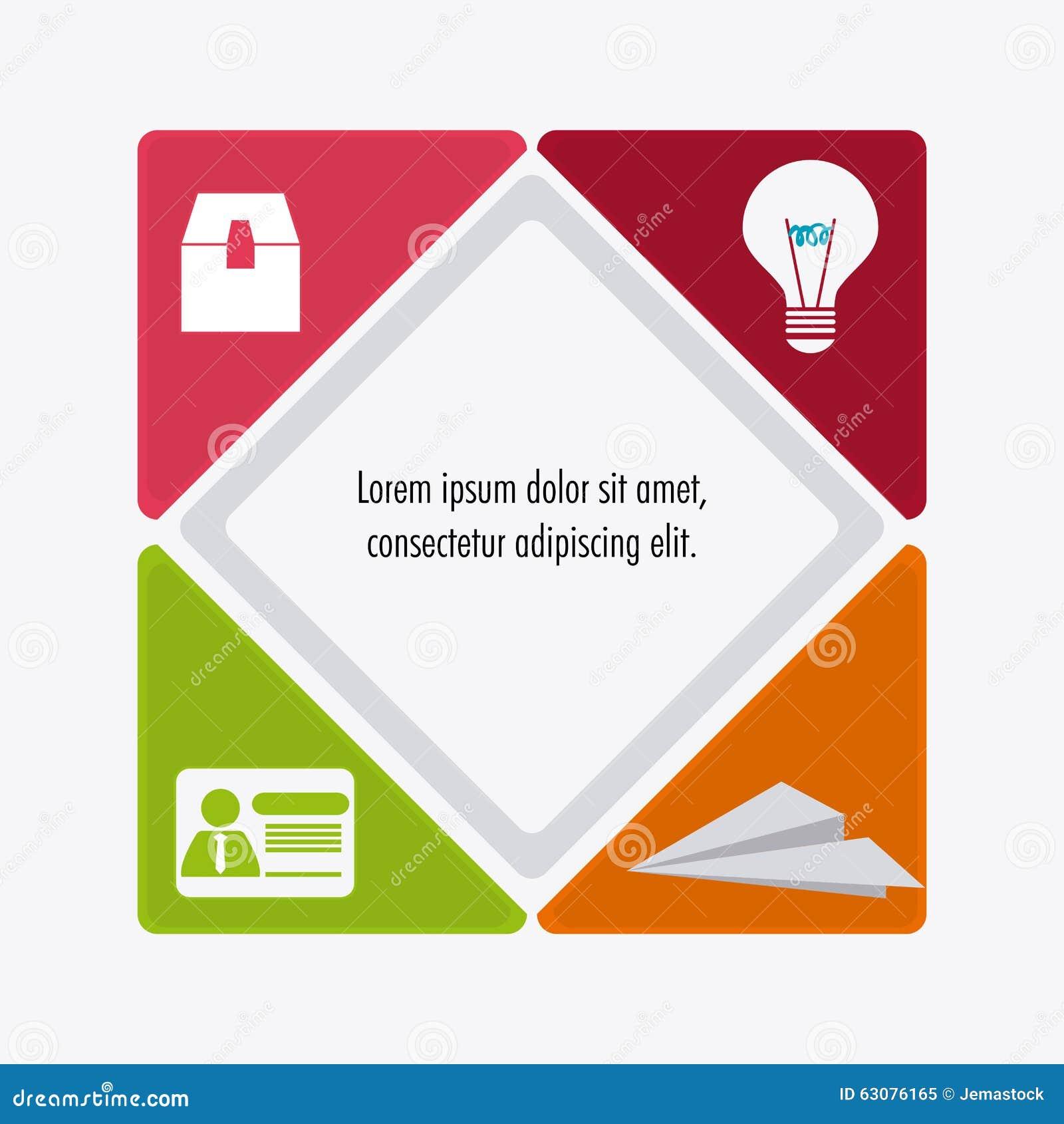Download Conception De Processus D'icônes Illustration de Vecteur - Illustration du planification, collaboration: 63076165