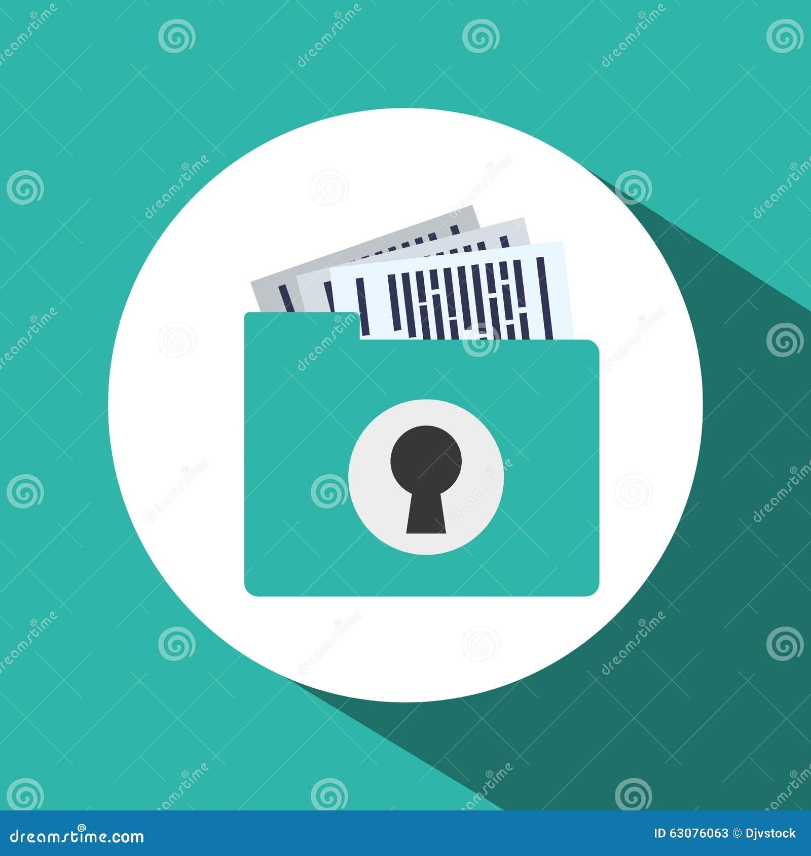 Download Conception De Protection Des Données Illustration de Vecteur - Illustration du investissement, service: 63076063