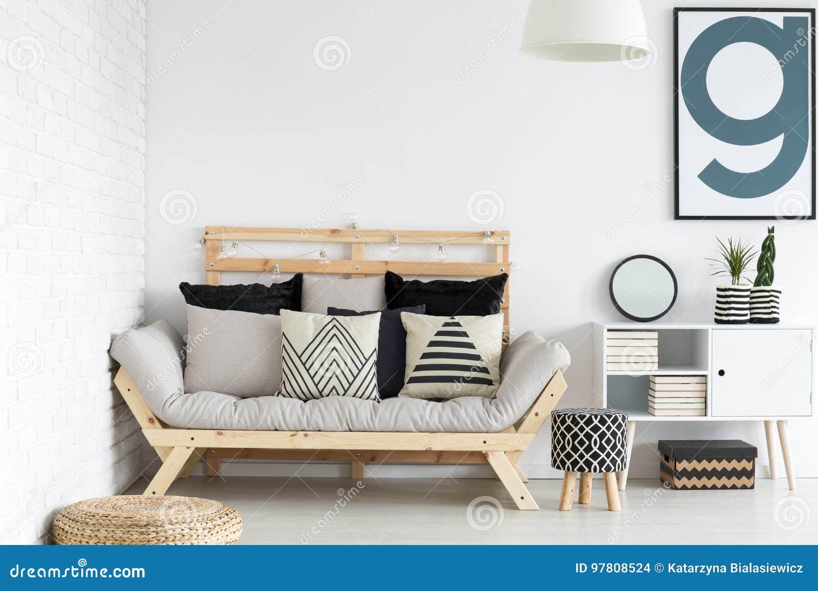 Conception de salon photo stock image du bleu nordique 97808524 for Outil de conception salon