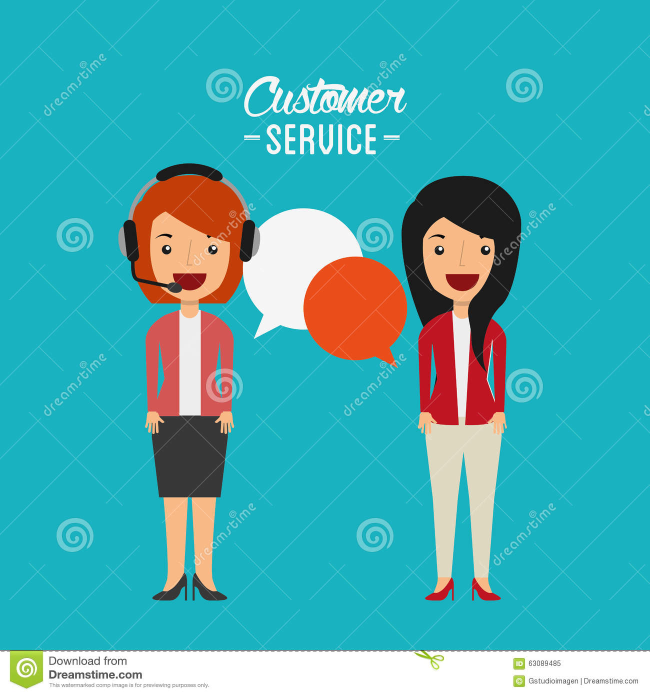 Download Conception De Service Client Illustration de Vecteur - Illustration du insigne, illustration: 63089485