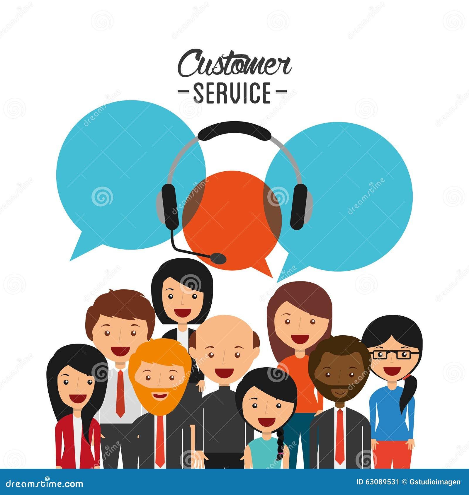 Download Conception De Service Client Illustration de Vecteur - Illustration du engagement, people: 63089531