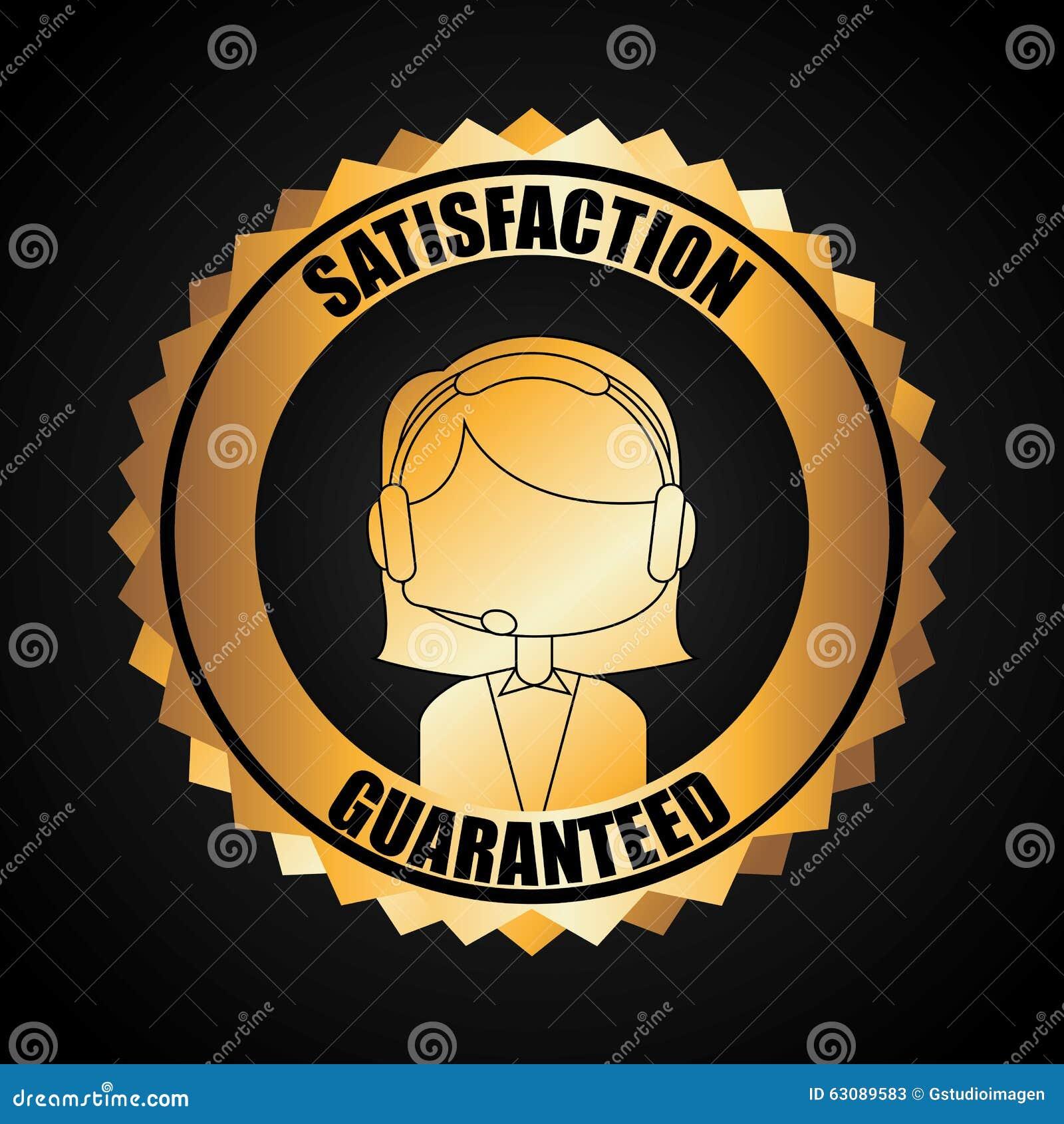 Download Conception De Service Client Illustration de Vecteur - Illustration du femelle, estampille: 63089583