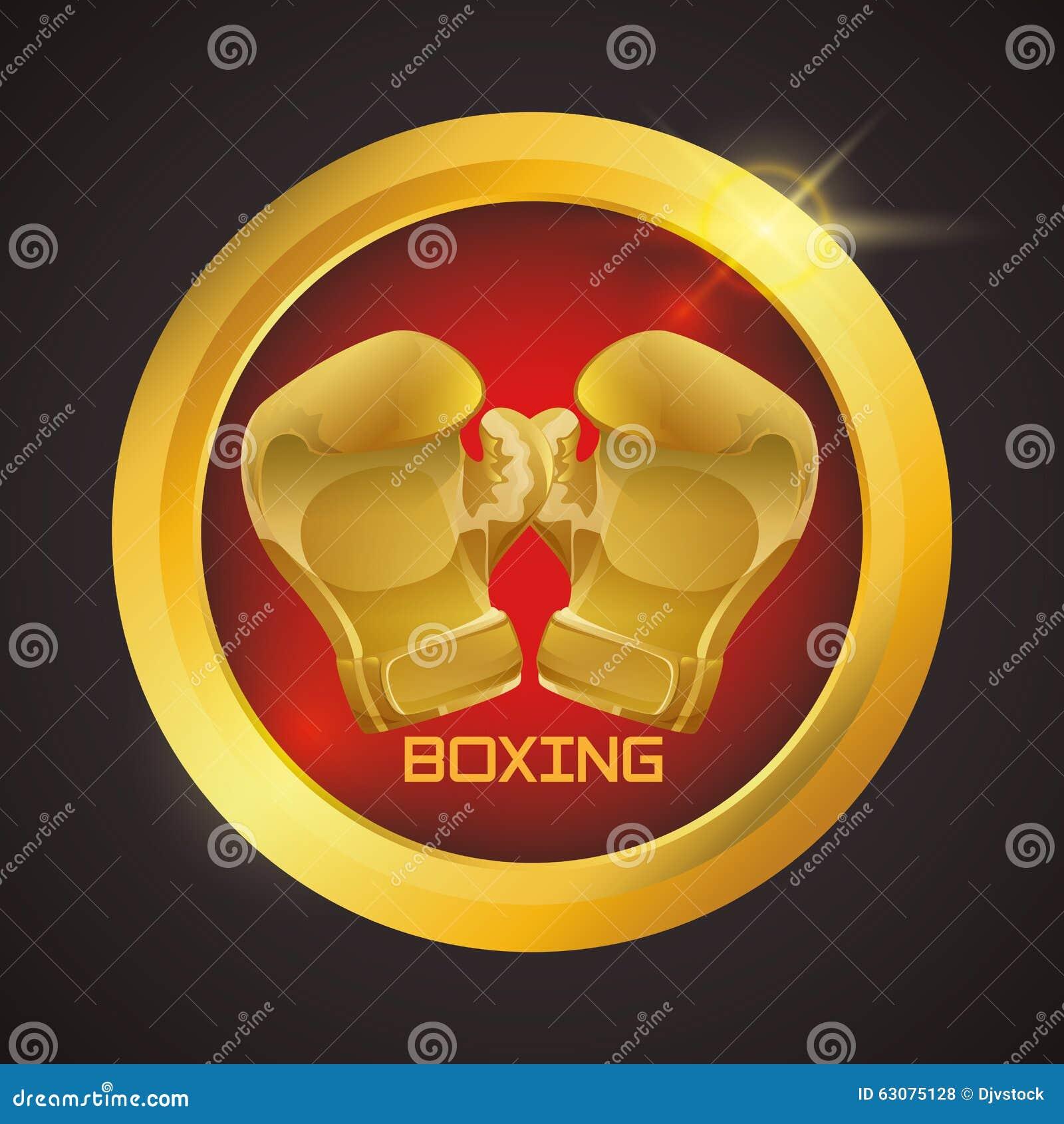 Download Conception De Sport De Boxe Illustration de Vecteur - Illustration du vecteur, récréation: 63075128