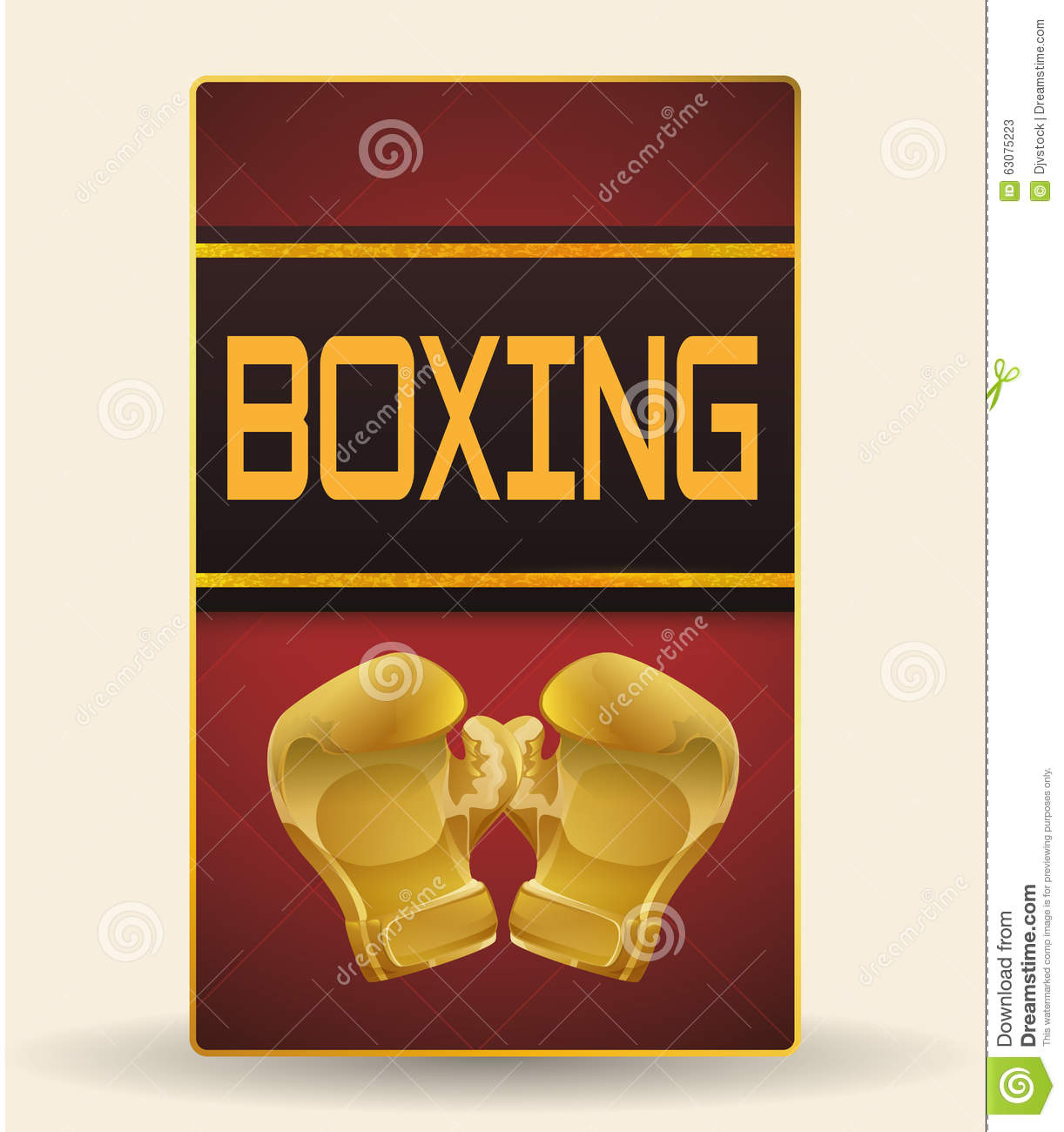 Download Conception De Sport De Boxe Illustration de Vecteur - Illustration du chasseur, actif: 63075223