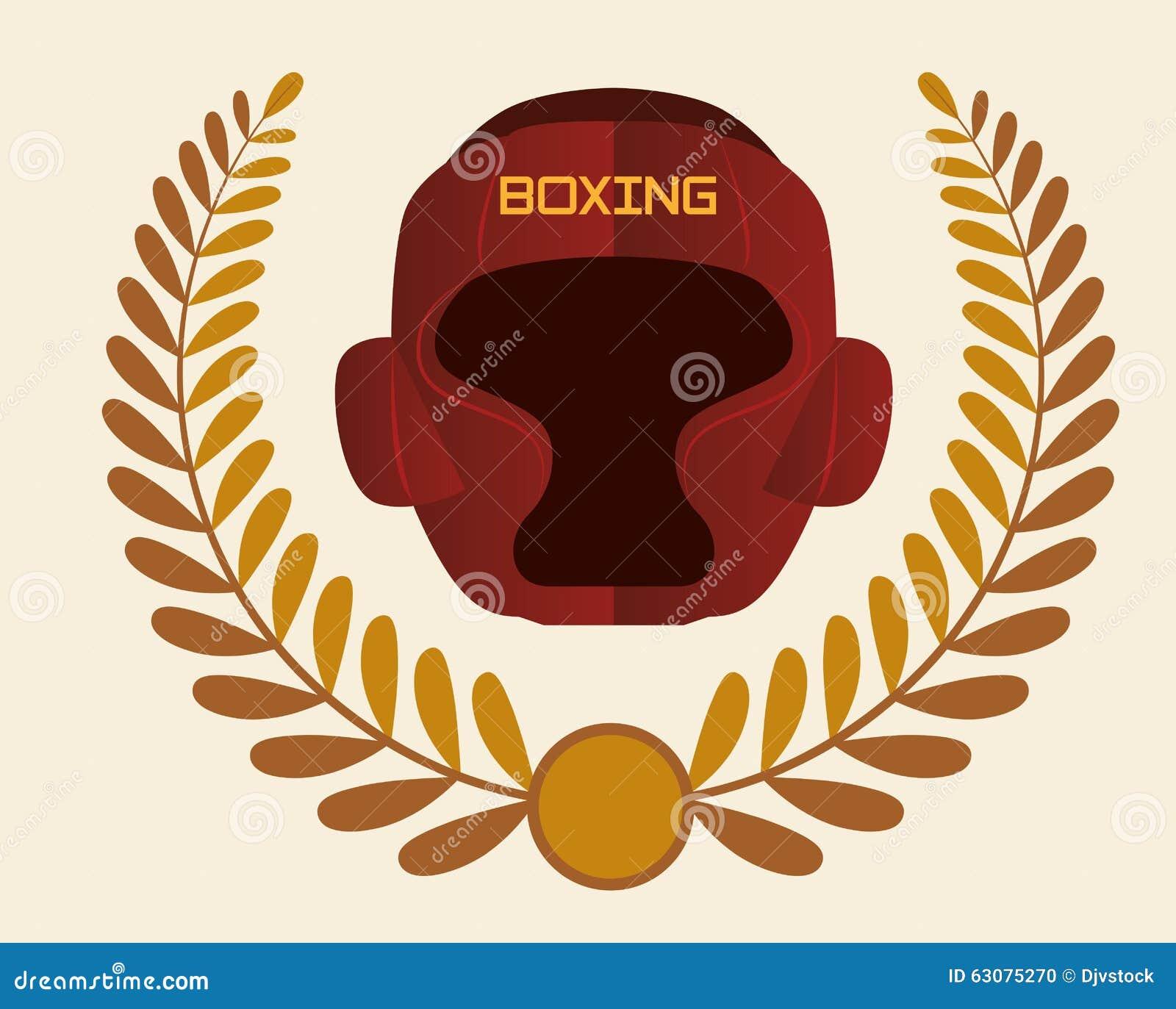 Download Conception De Sport De Boxe Illustration de Vecteur - Illustration du homme, récréation: 63075270