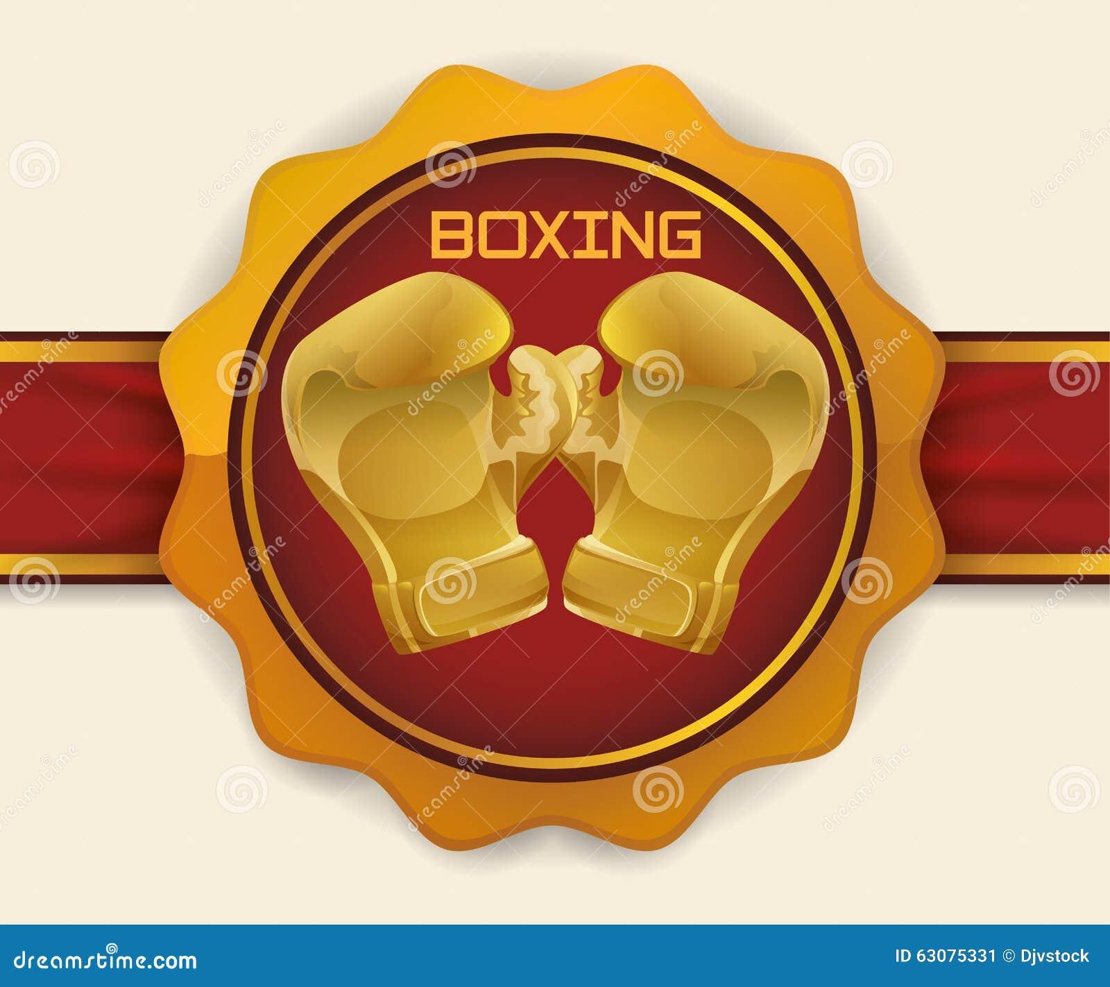 Download Conception De Sport De Boxe Illustration de Vecteur - Illustration du concurrence, santé: 63075331