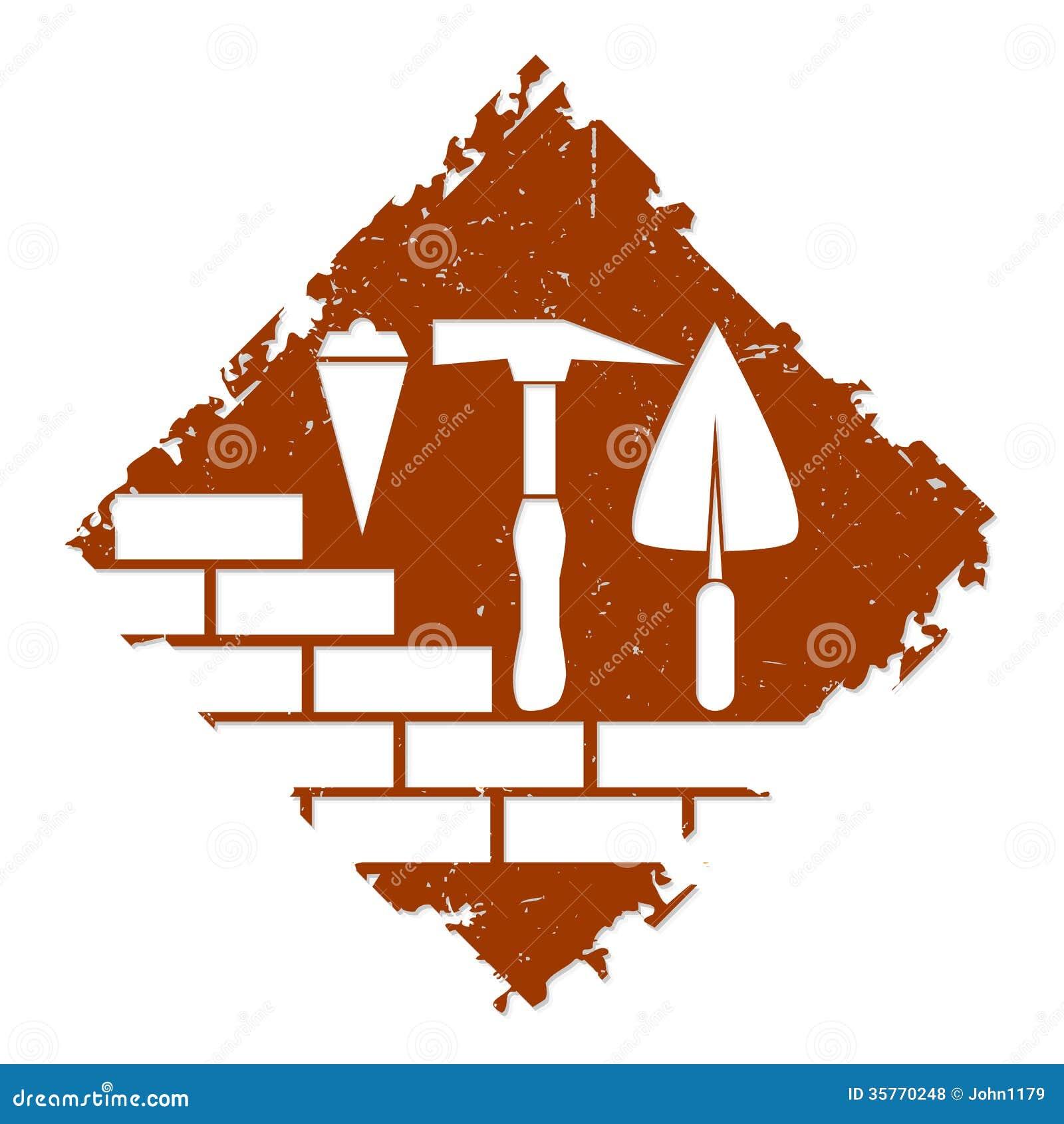 conception de symbole de construction illustration de vecteur image 35770248. Black Bedroom Furniture Sets. Home Design Ideas