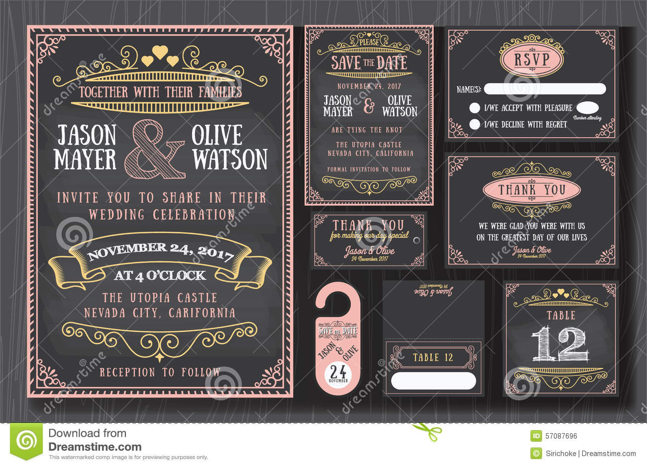Wedding Renewal Invitations as awesome invitation example