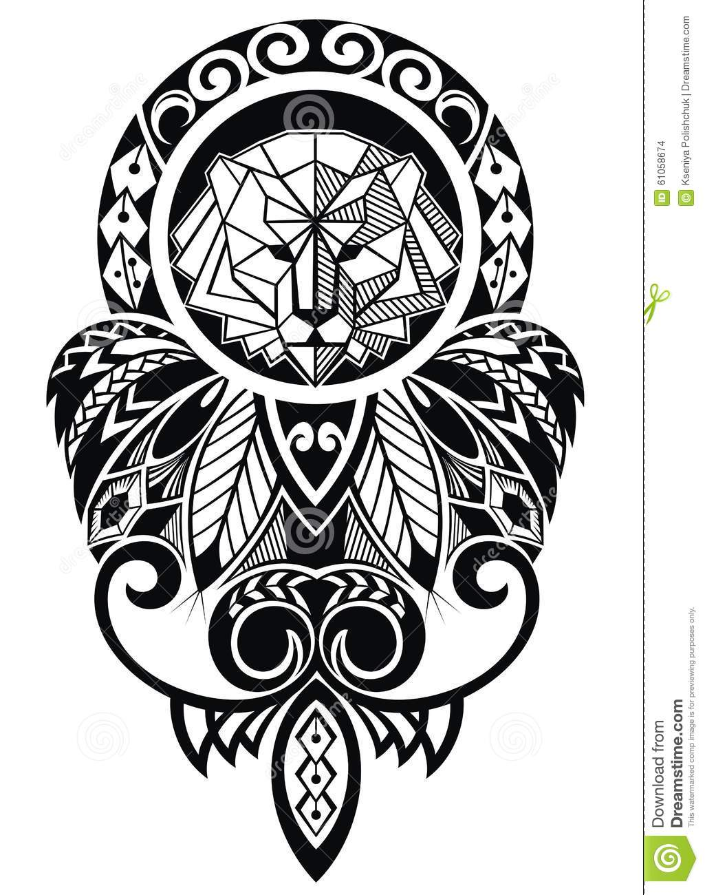 Illustration Stock Conception De Tatouage Avec Le Lion Image61058674 likewise 215891375865815852 also 318 Sticker Arbre Olivier in addition 1101 Stickers Arabesque Fleur furthermore Pajaro Origami. on origami floral