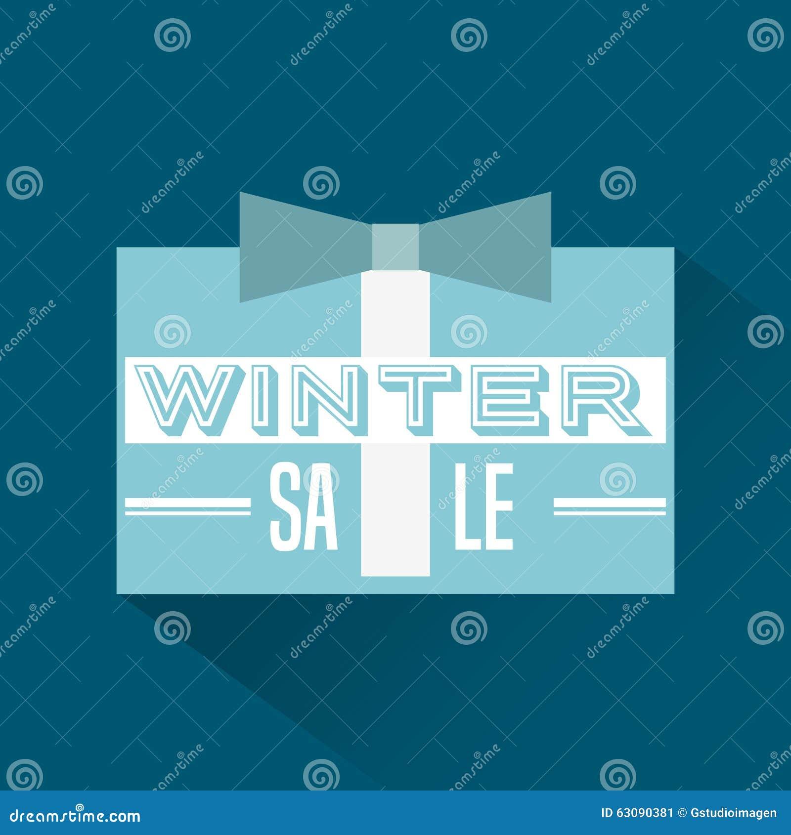 Download Conception De Vente D'hiver Illustration de Vecteur - Illustration du prix, cadeau: 63090381