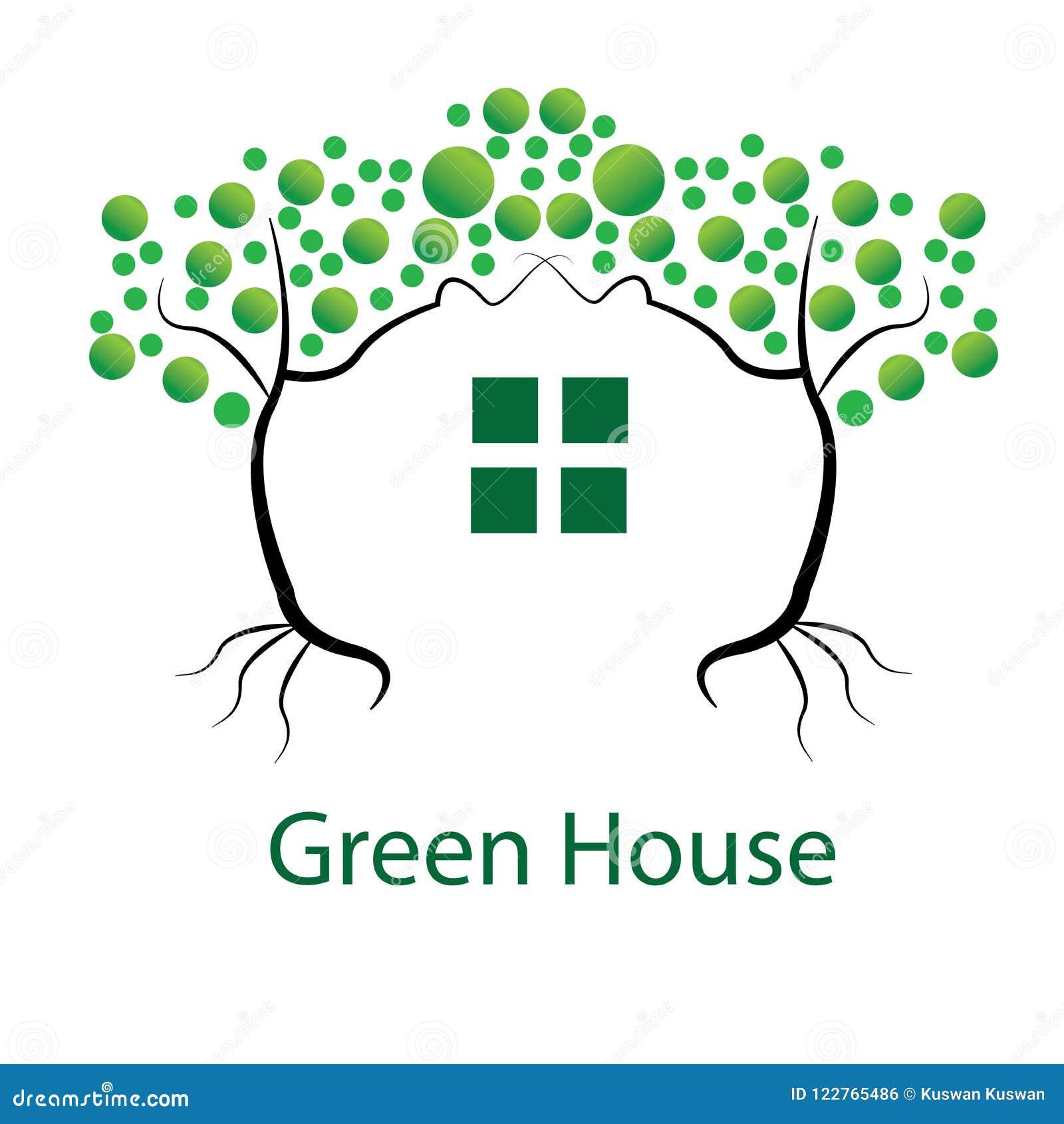 Conception de vert d Illustrasi ou Chambre verte