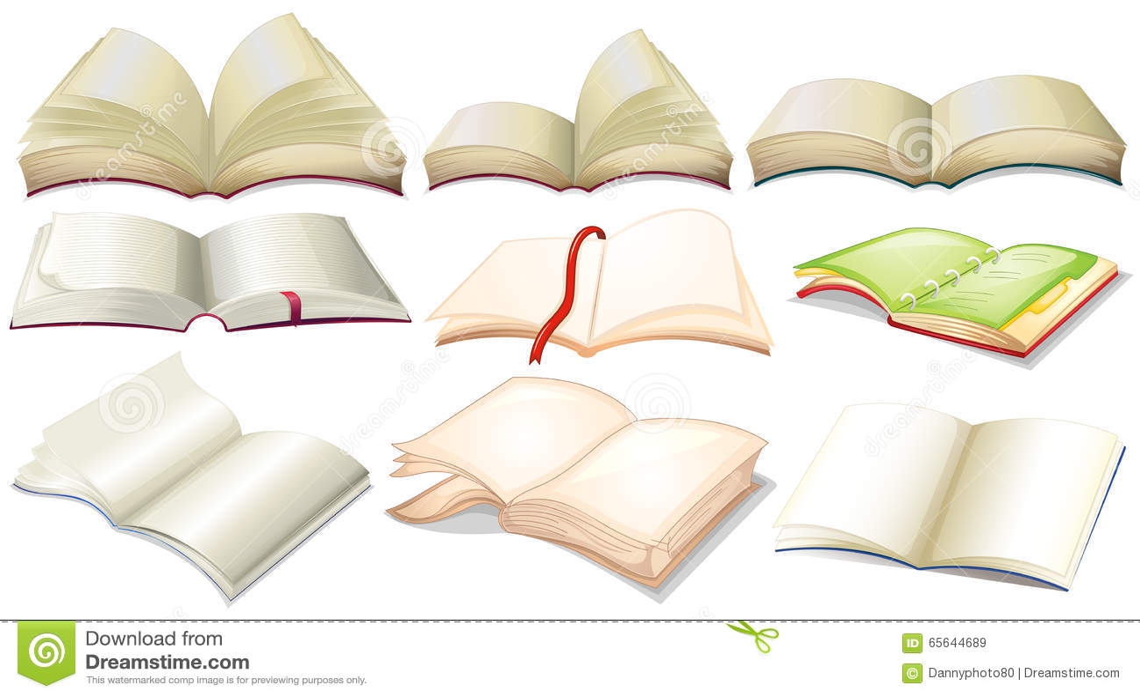 Conception différente des livres et des carnets
