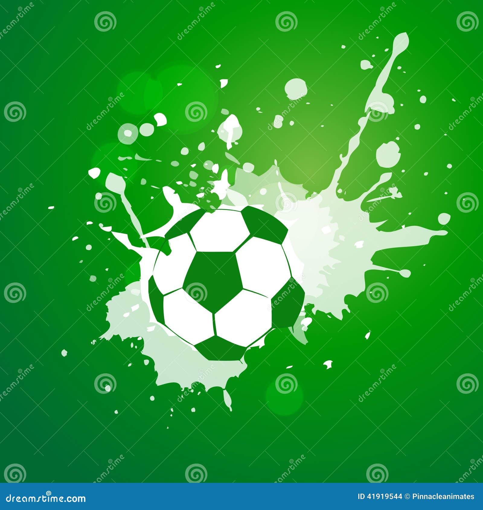 Conception du football de vecteur