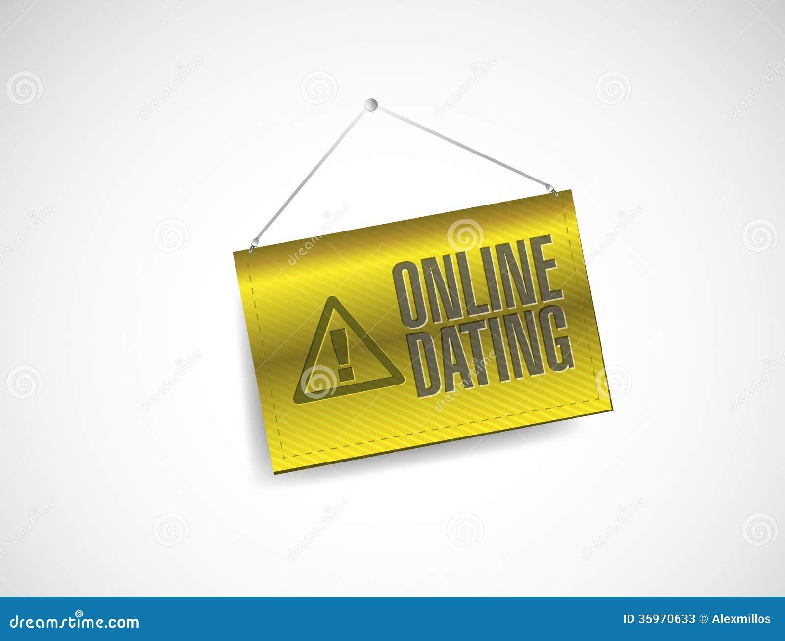Signes d'avertissement en ligne datant