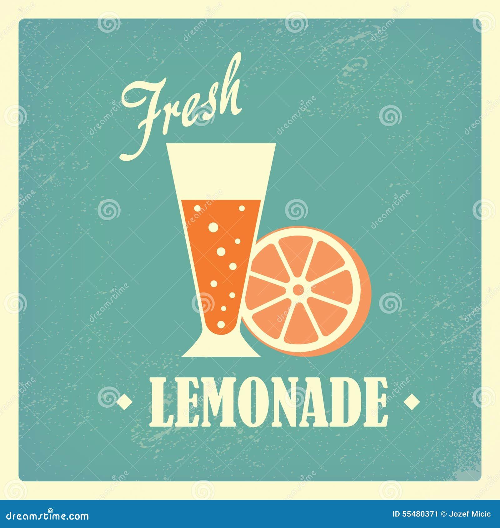 conception faite maison locale fra che de vintage de boissons de limonade illustration de. Black Bedroom Furniture Sets. Home Design Ideas