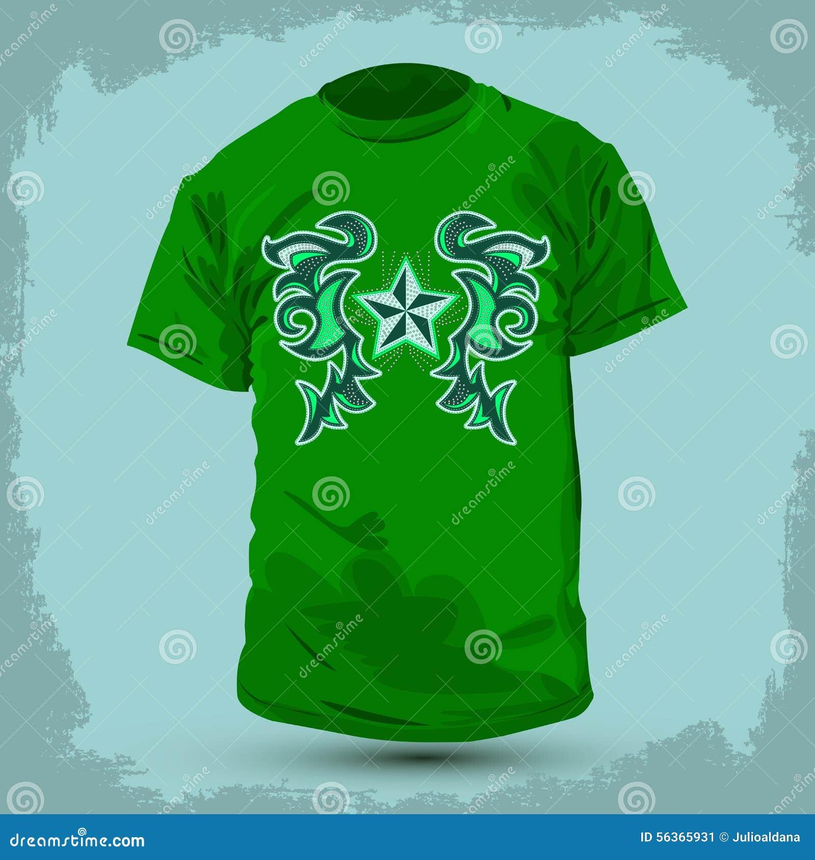 Conception graphique de T-shirt - conception d abrégé sur Rockstar