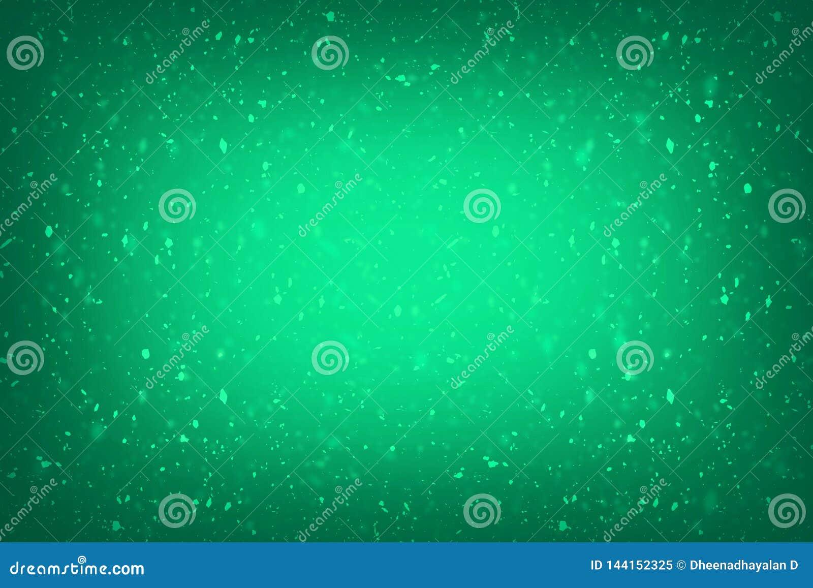 Conception grunge de texture de fond de cru riche de luxe vert vert abstrait de fond avec la peinture antique ?l?gante sur l illu