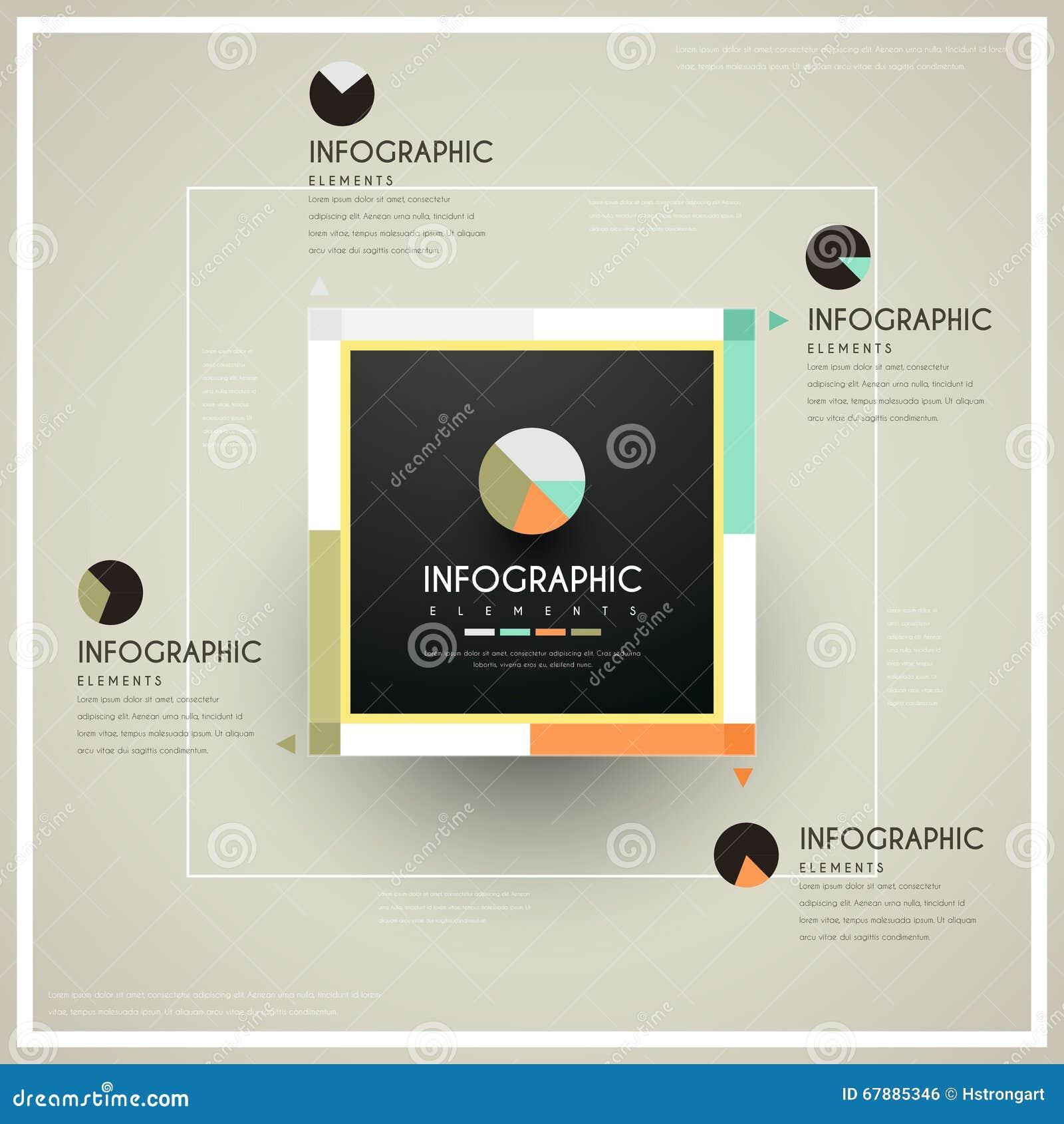 Conception infographic à la mode