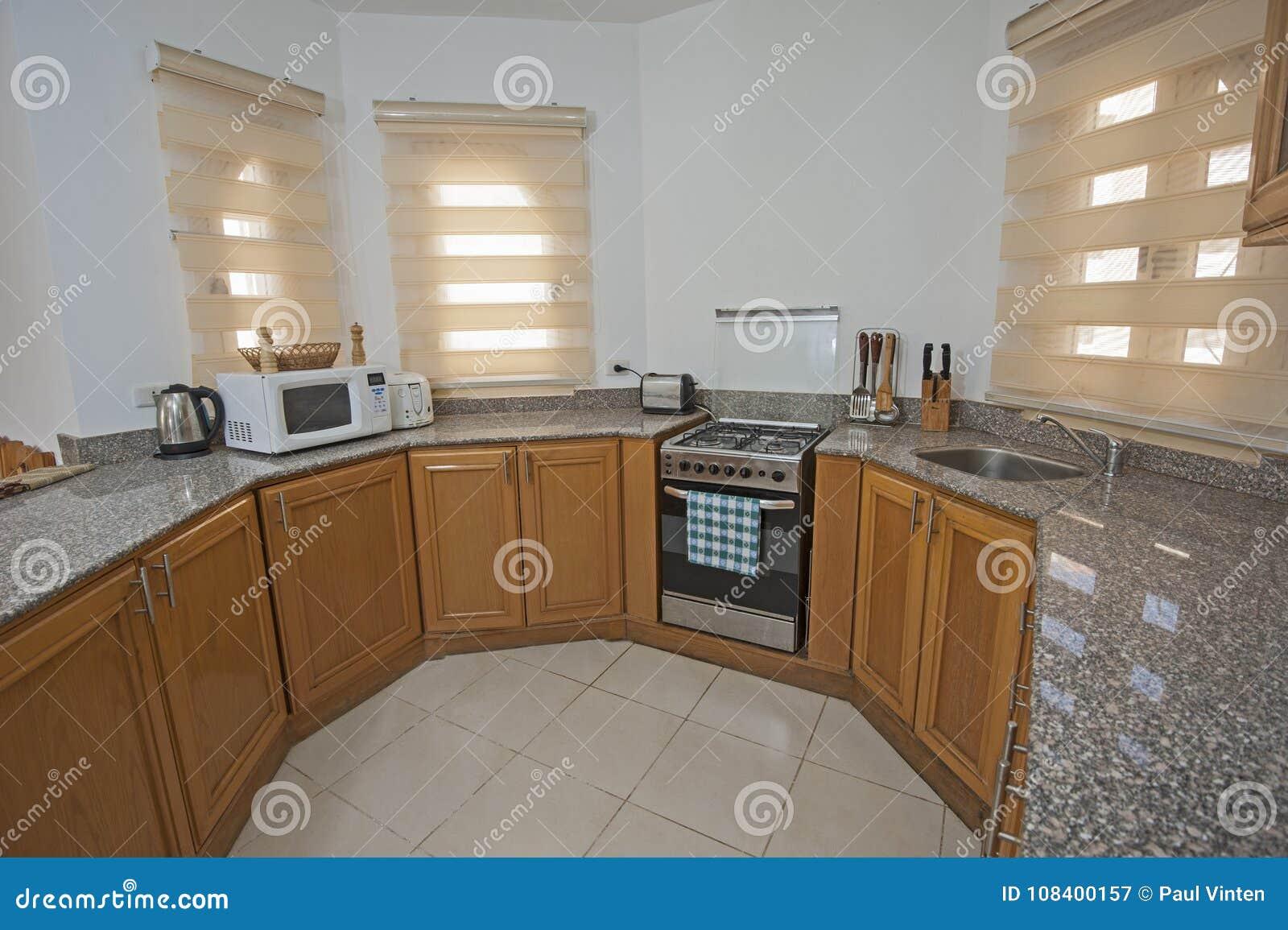Conception Intérieure De Décor De Cuisine En Appartement De Maison D ...
