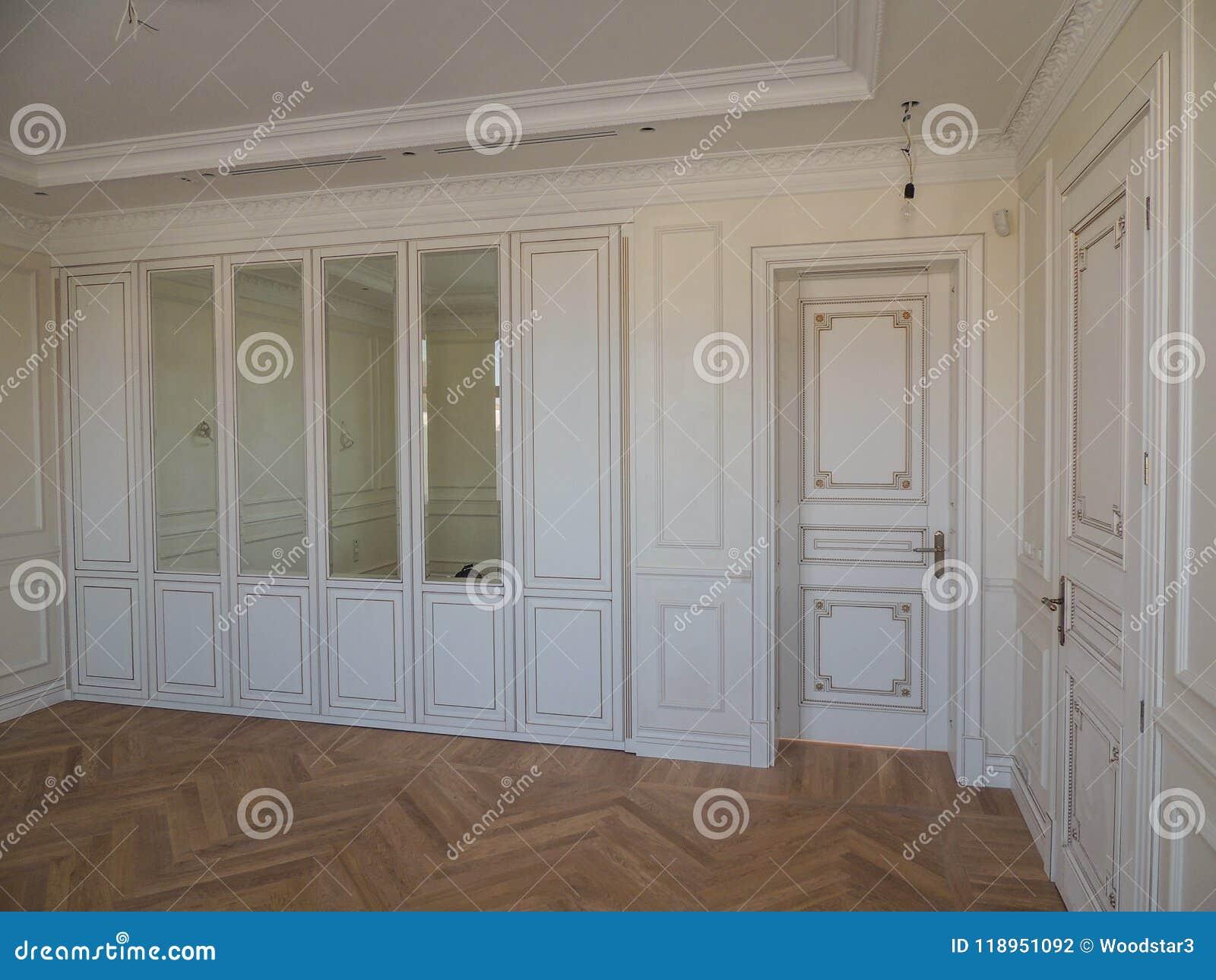 Conception Intérieure De La Future Chambre à Coucher Dans La ...