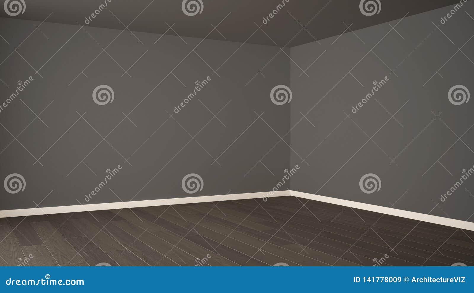 Conception intérieure de pièce vide, l espace ouvert avec la grande fenêtre panoramique, balcon sur la vue panoramique de mer, pl