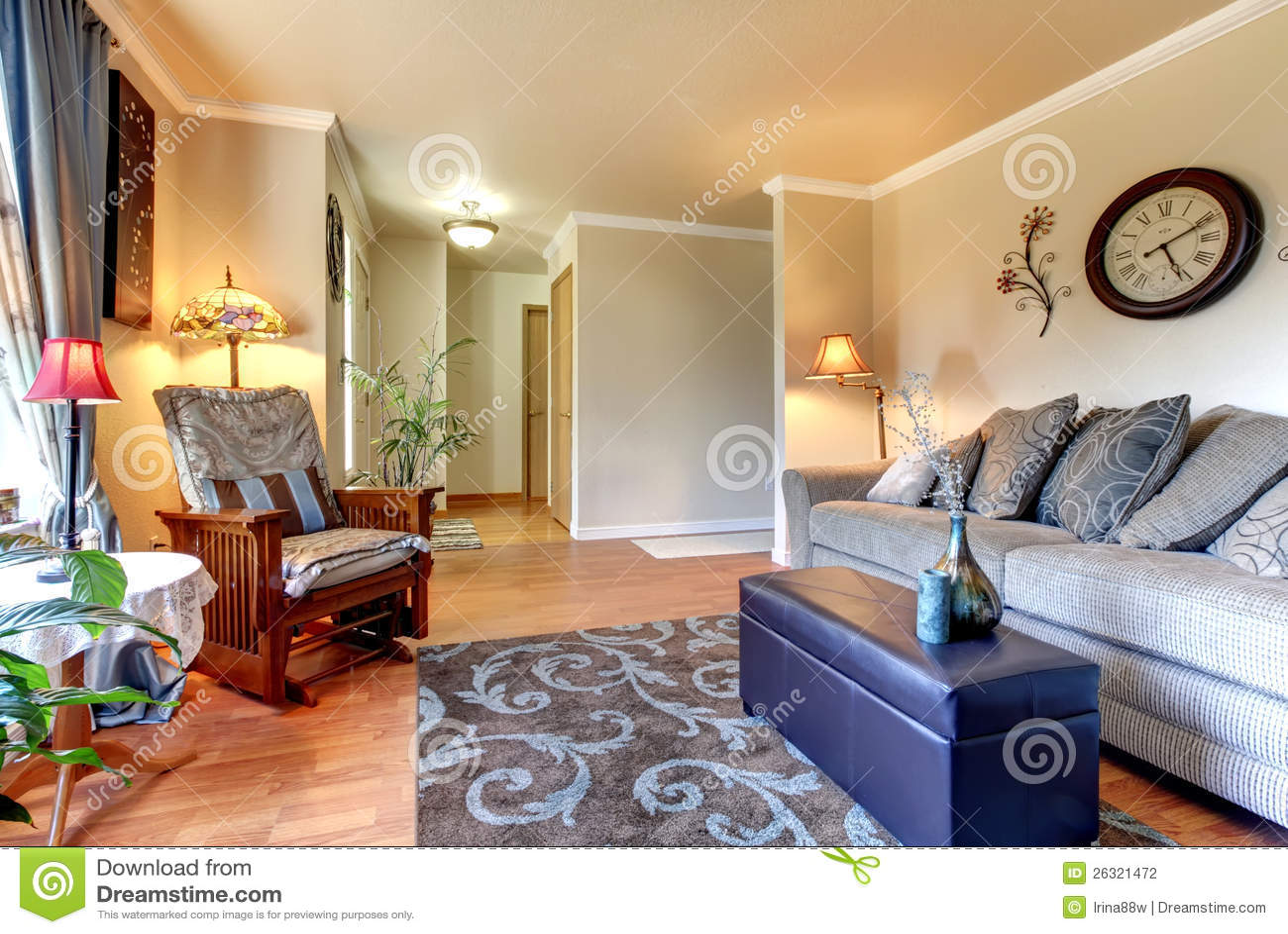 4497d72b4b6f Conception Intérieure De Salon Classique élégant Et Simple. Photo ...