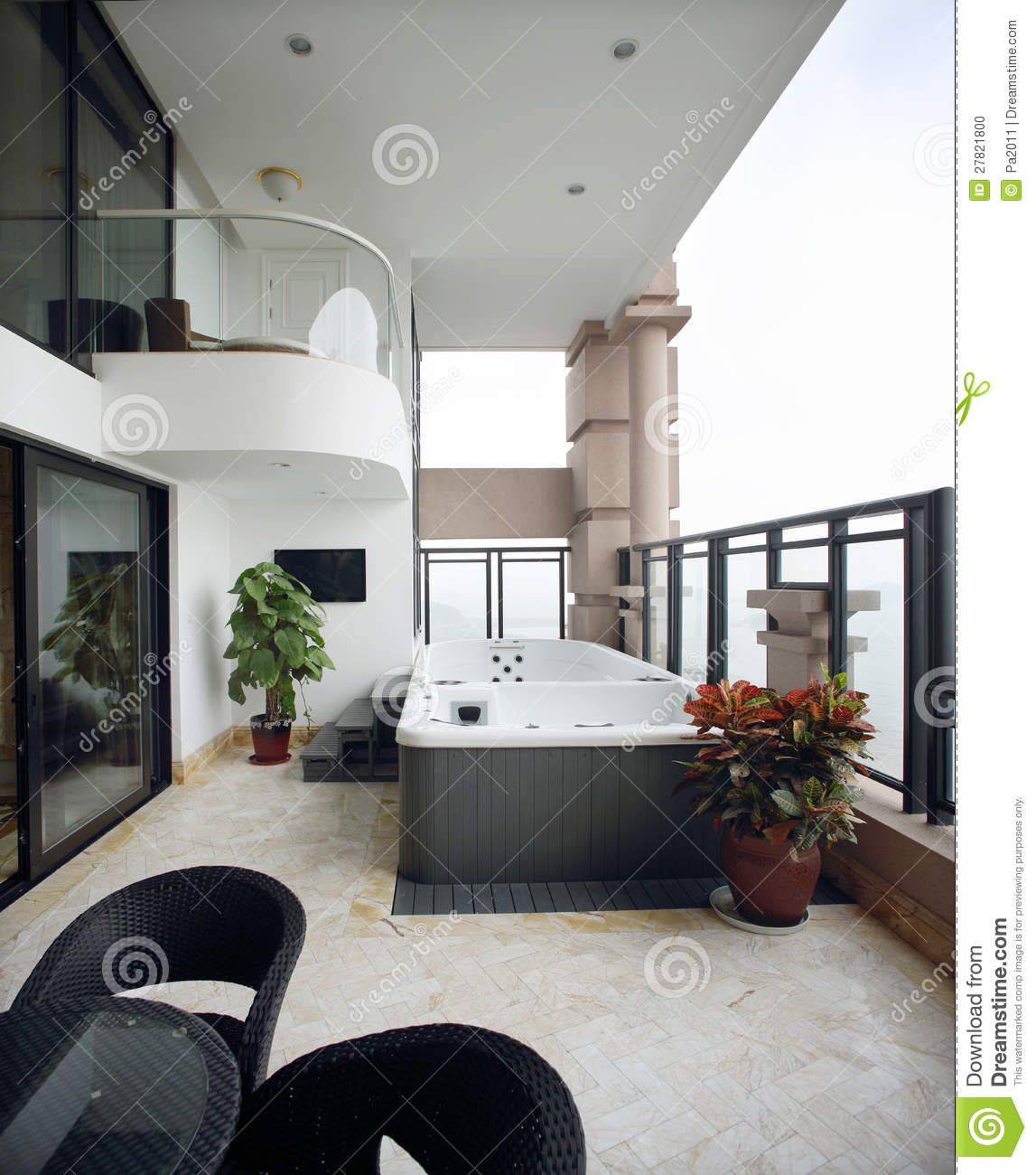 conception int rieure moderne salle de bains photo stock image 27821800. Black Bedroom Furniture Sets. Home Design Ideas