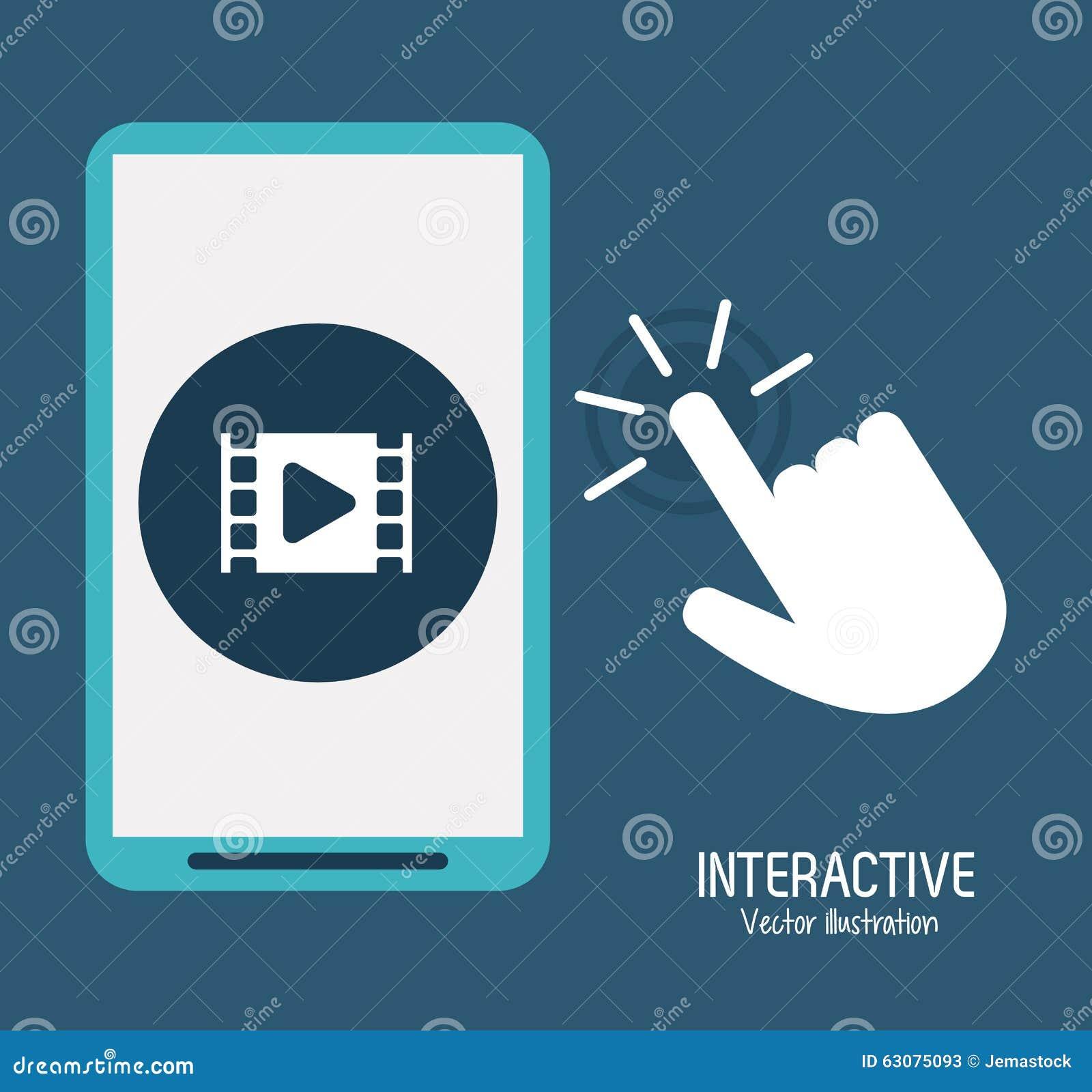 Download Conception Interactive De Technologie Illustration de Vecteur - Illustration du sens, affaires: 63075093
